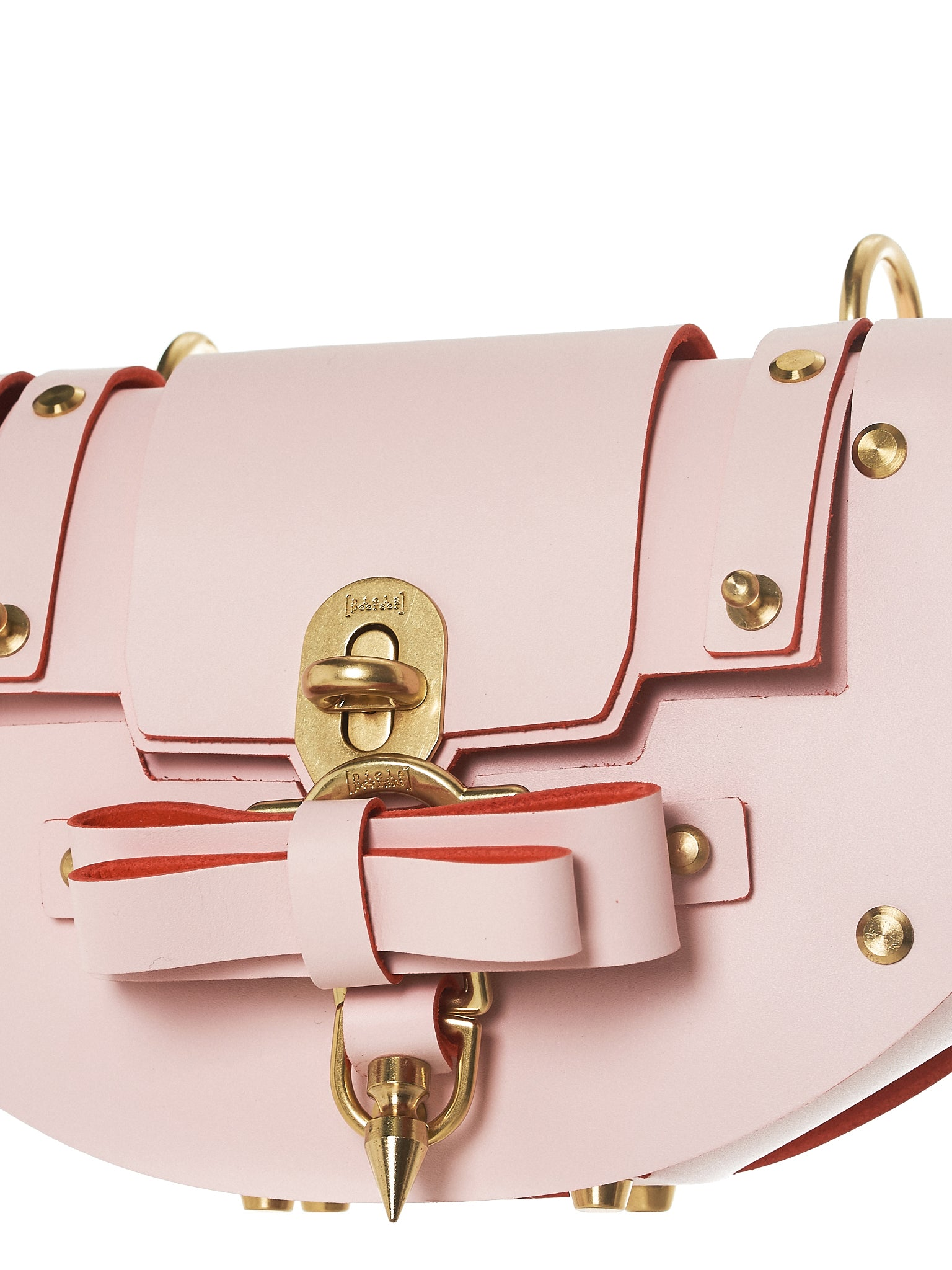 Bow Buckle Eclipse Bag (NPSS18-07-BABY-PINK)