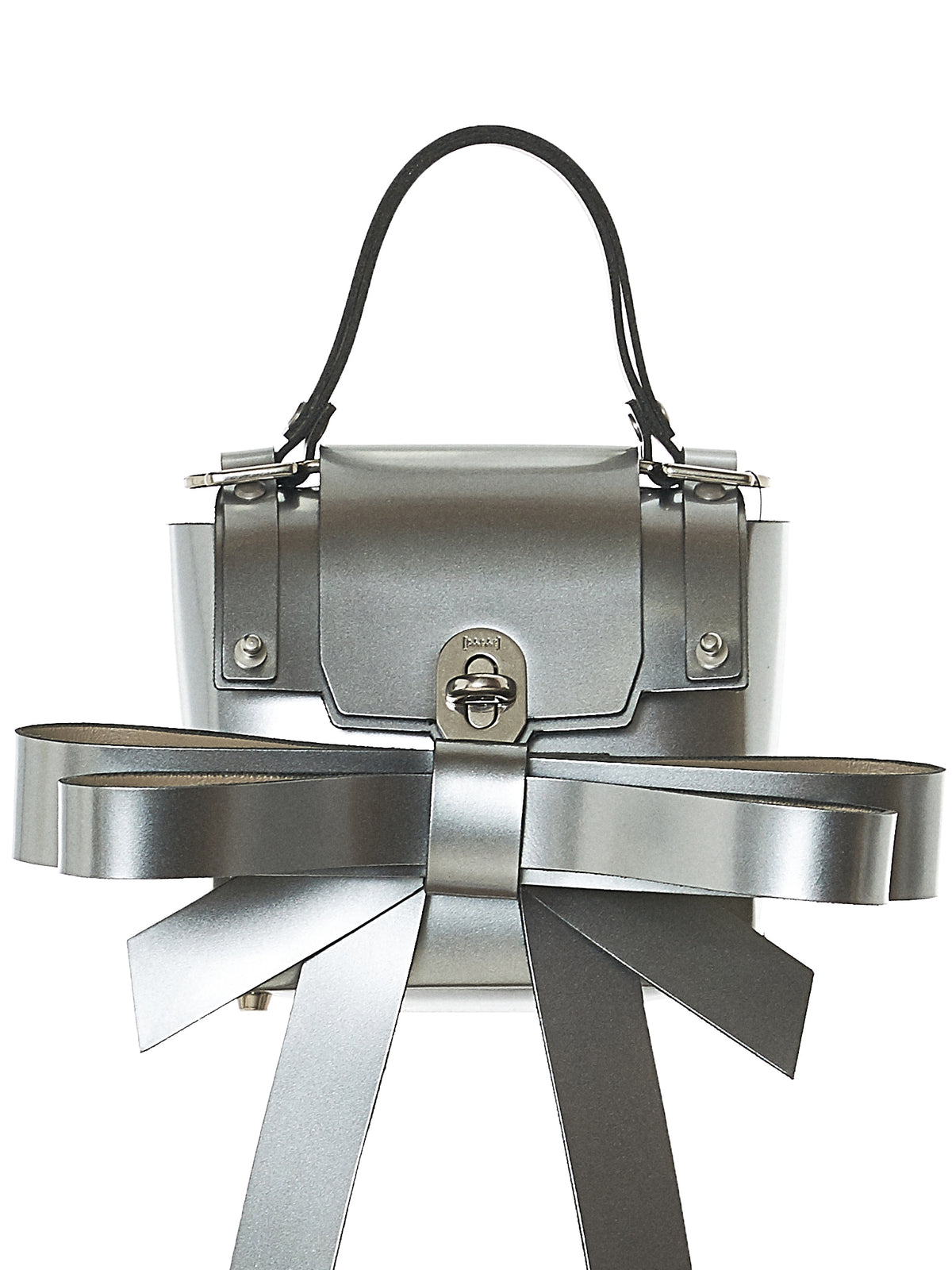 Ribbon Backpack (NPSS18-17-SILVER)