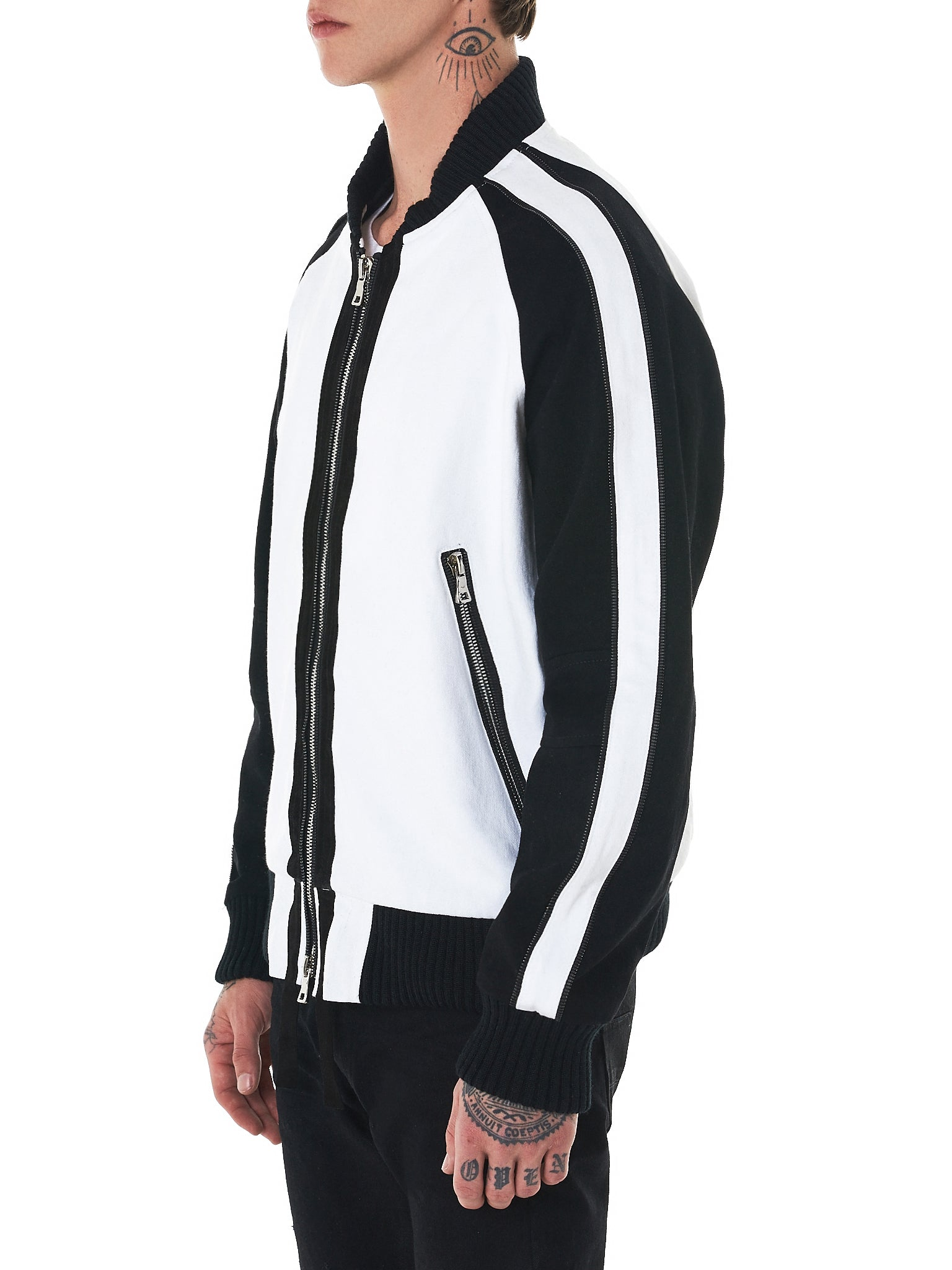Nahmias Bomber Jacket - Hlorenzo Side