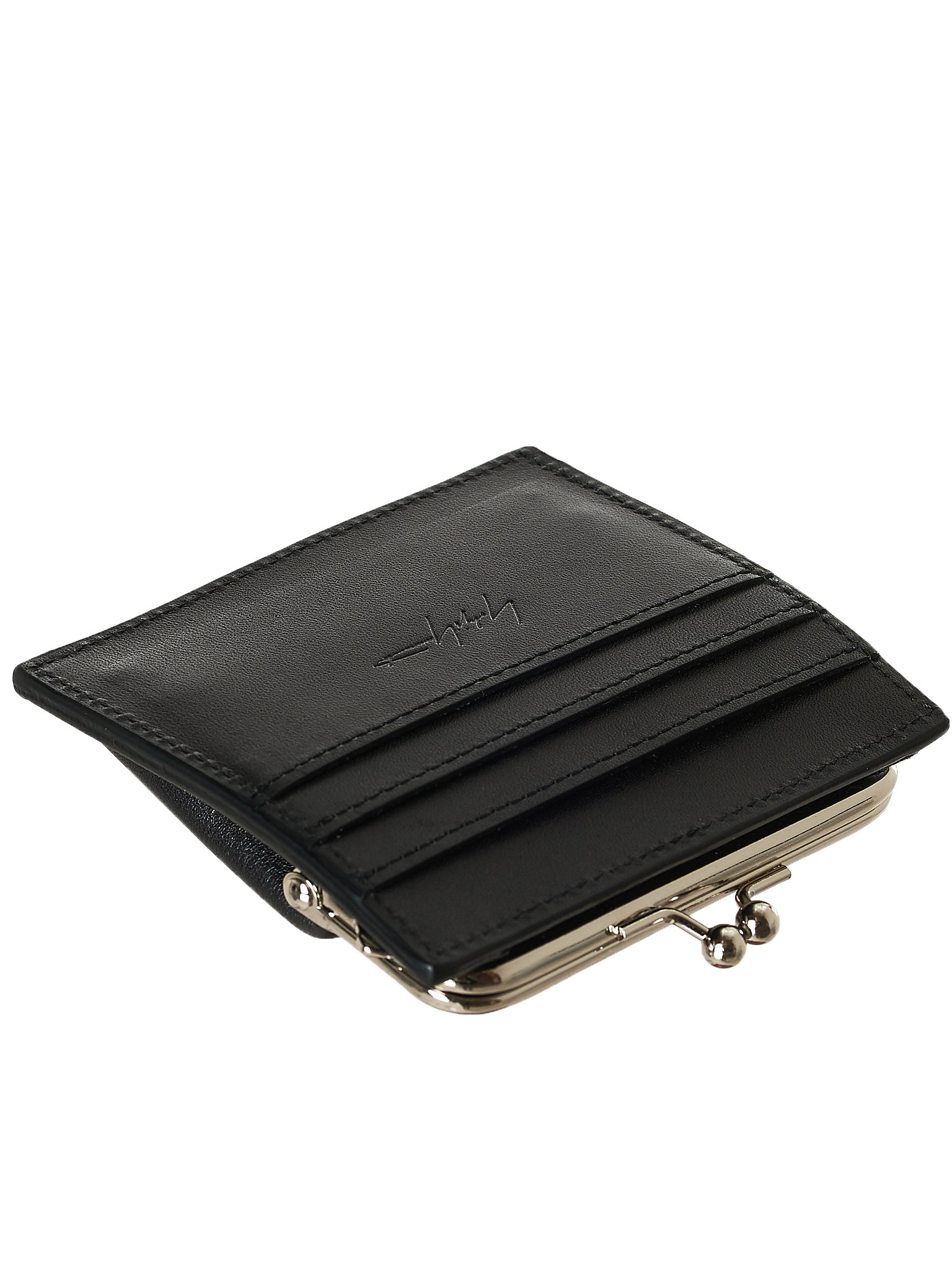 Leather Coin Purse (NW-A01-760-BLACK)