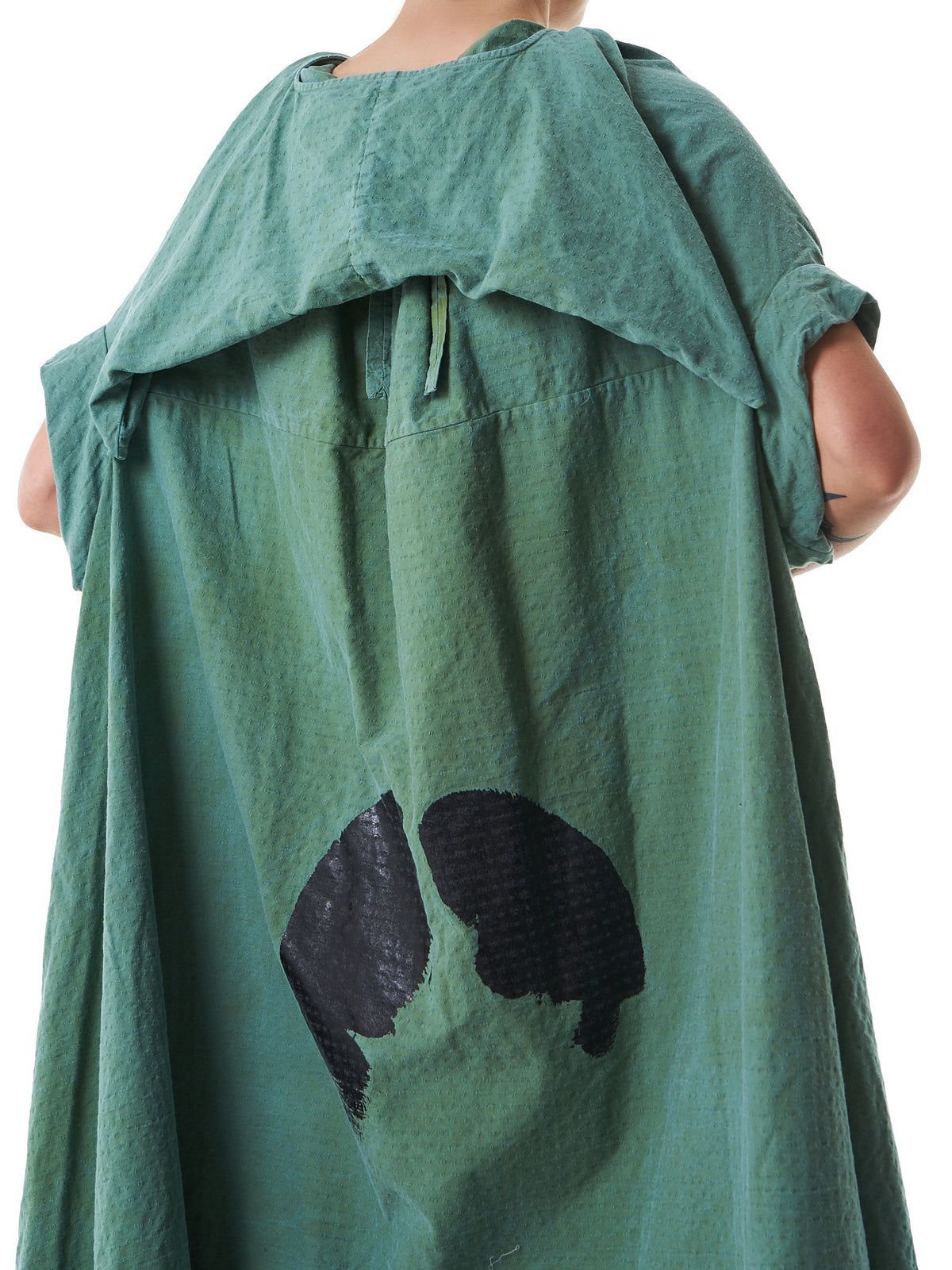 Structured Full-Length Dress (OPBWHM1050-GARDEN-GREEN) - H. Lorenzo