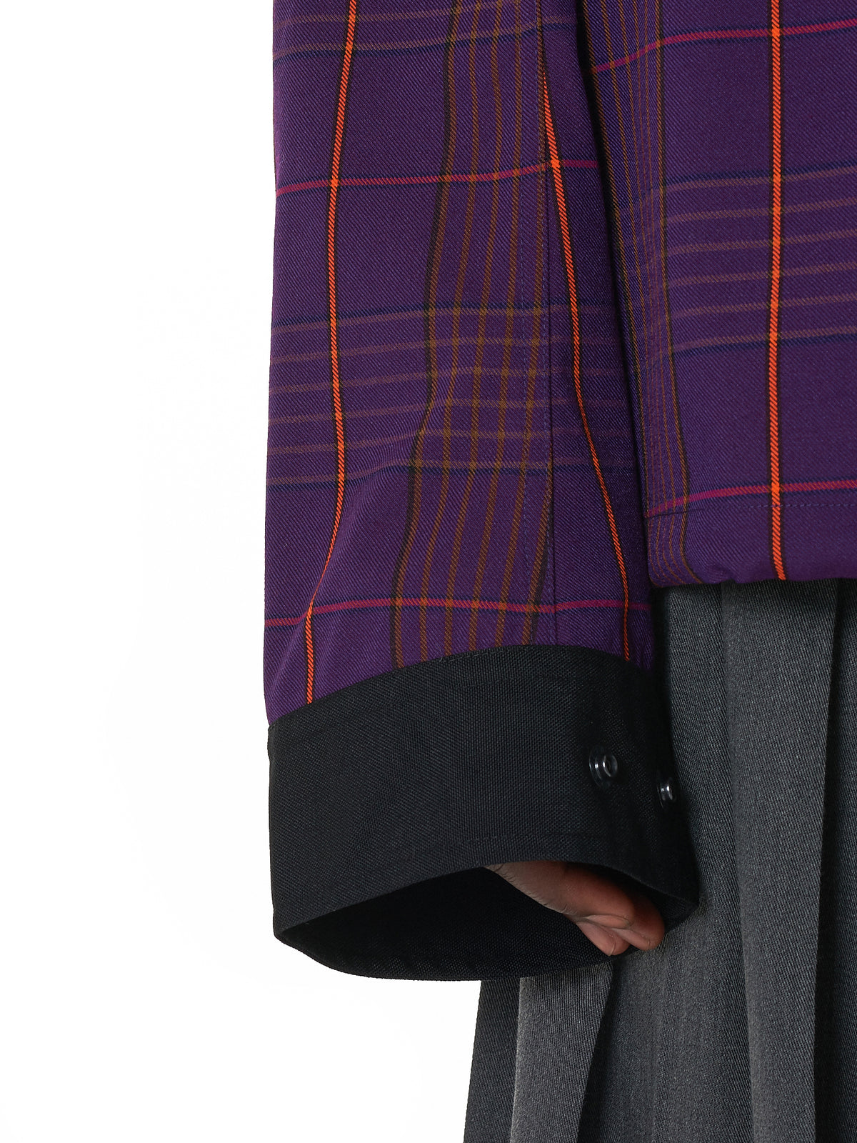 Sankuanz Purple Jacket - Hlorenzo Detail 2