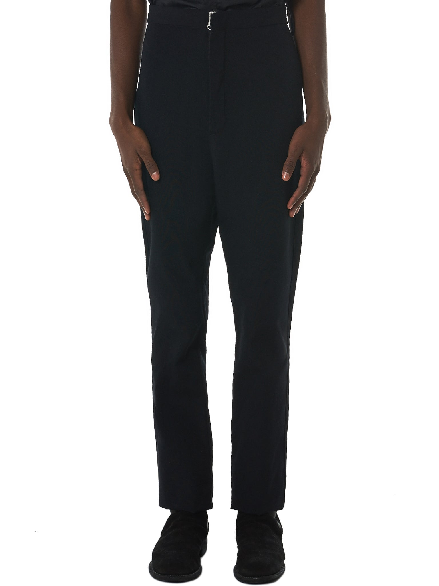 Deepti Classic Trousers - Hlorenzo Front