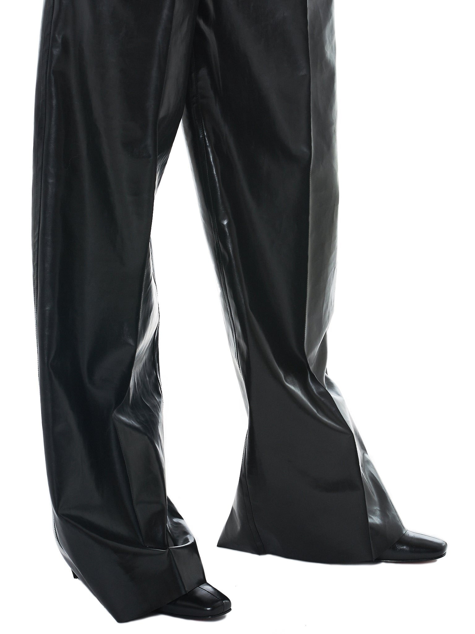 Kwaidan Rubberized Trousers - Hlorenzo Detail 3