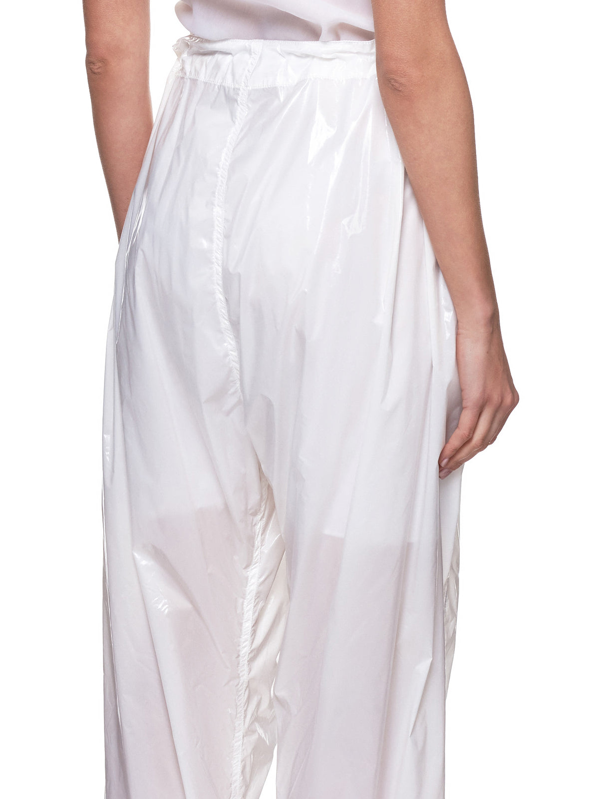 Parachute Baggy Trousers (P018-PP-WHITE)