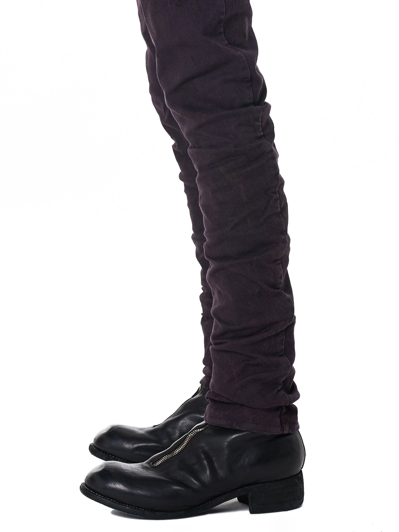 Boris Bidjan Saberi 'P13' Purple Denim - Hlorenzo Detail 1