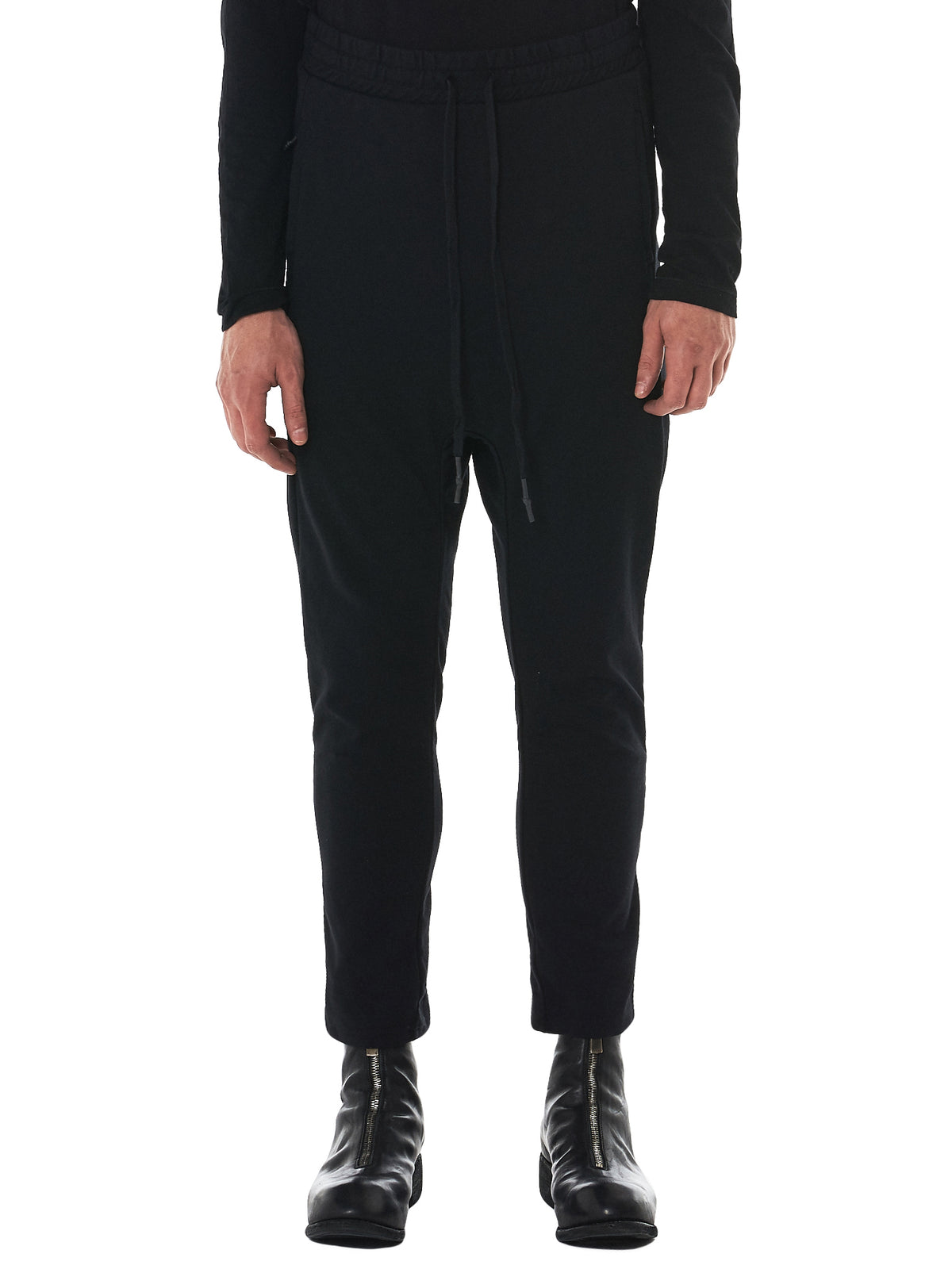 11 By Boris Bidjan Saberi Cropped Trousers - Hlorenzo Front