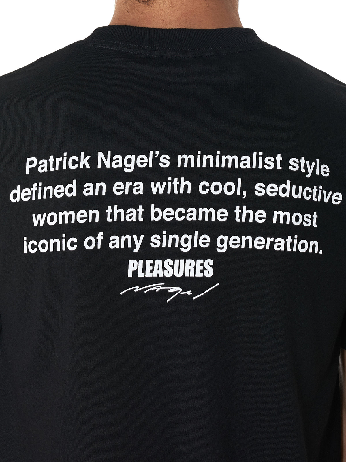 Pleasures 'Arrested' Tee Shirt - Hlorenzo Detail 2