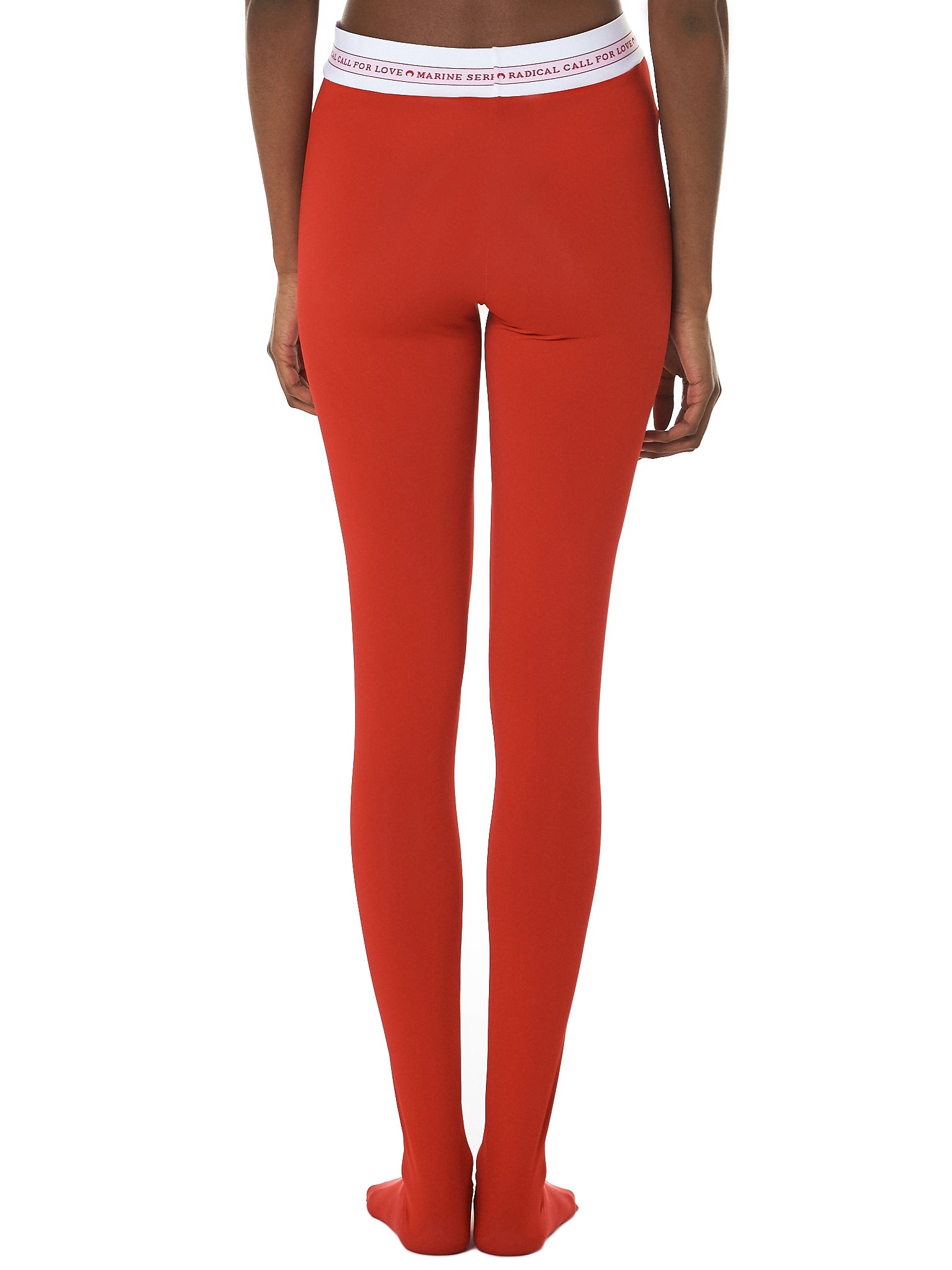 Marine Serre Leggings - Hlorenzo Back
