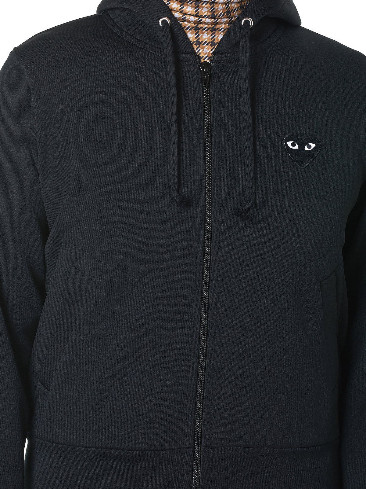 Logo Zip Jacket (P1T253-BLACK)