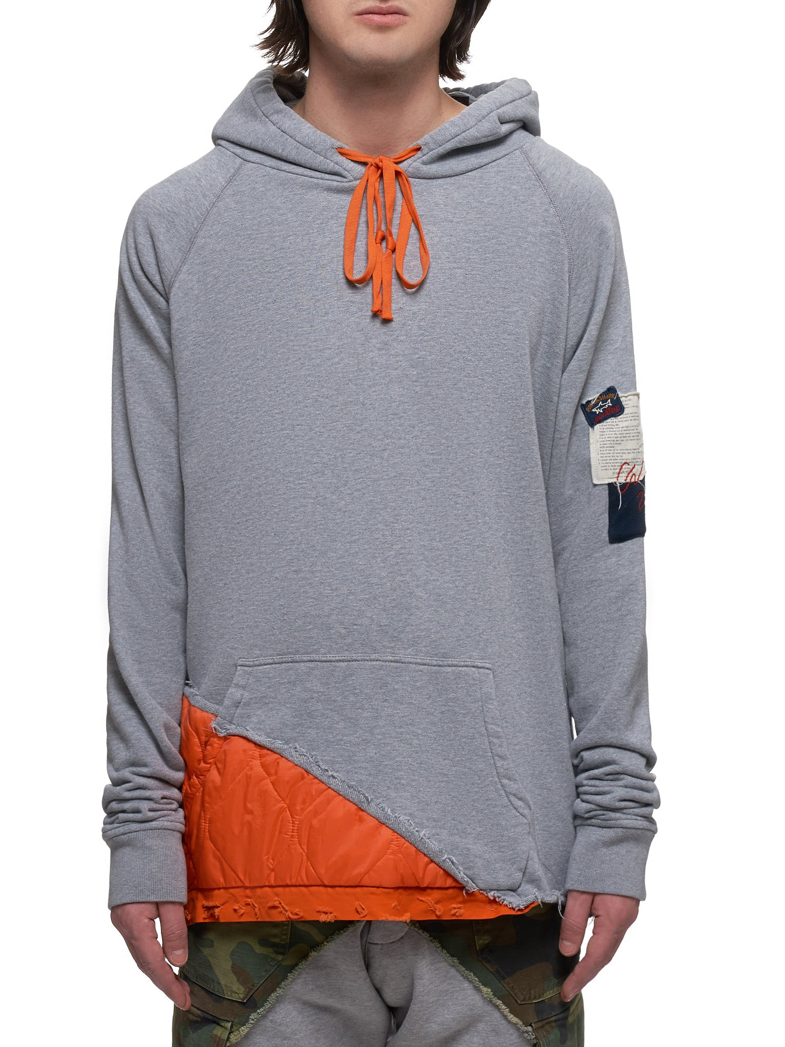 Paul & Shark by Greg Lauren Hoodie - Hlorenzo Front