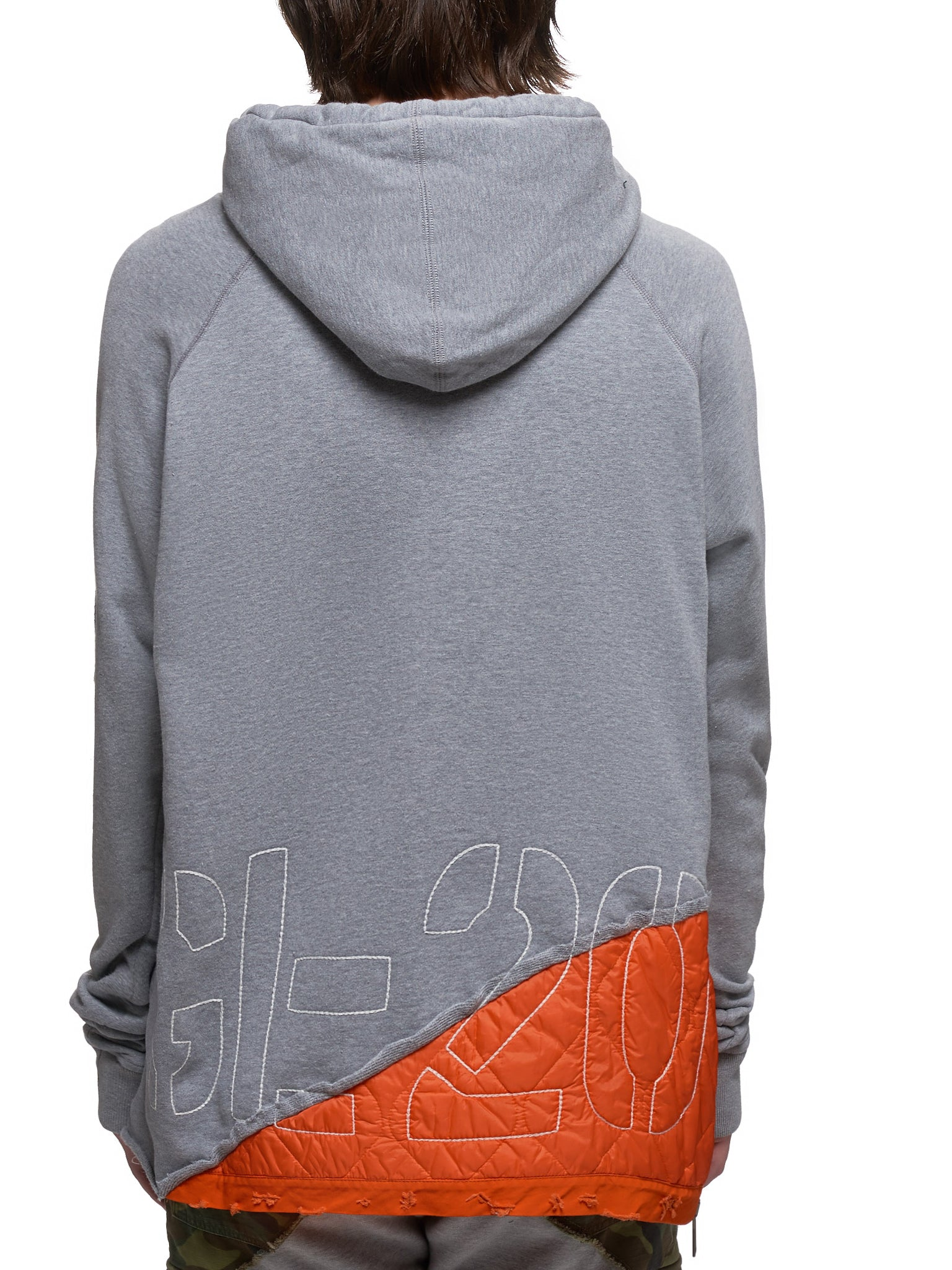 Paul & Shark by Greg Lauren Hoodie - Hlorenzo Back