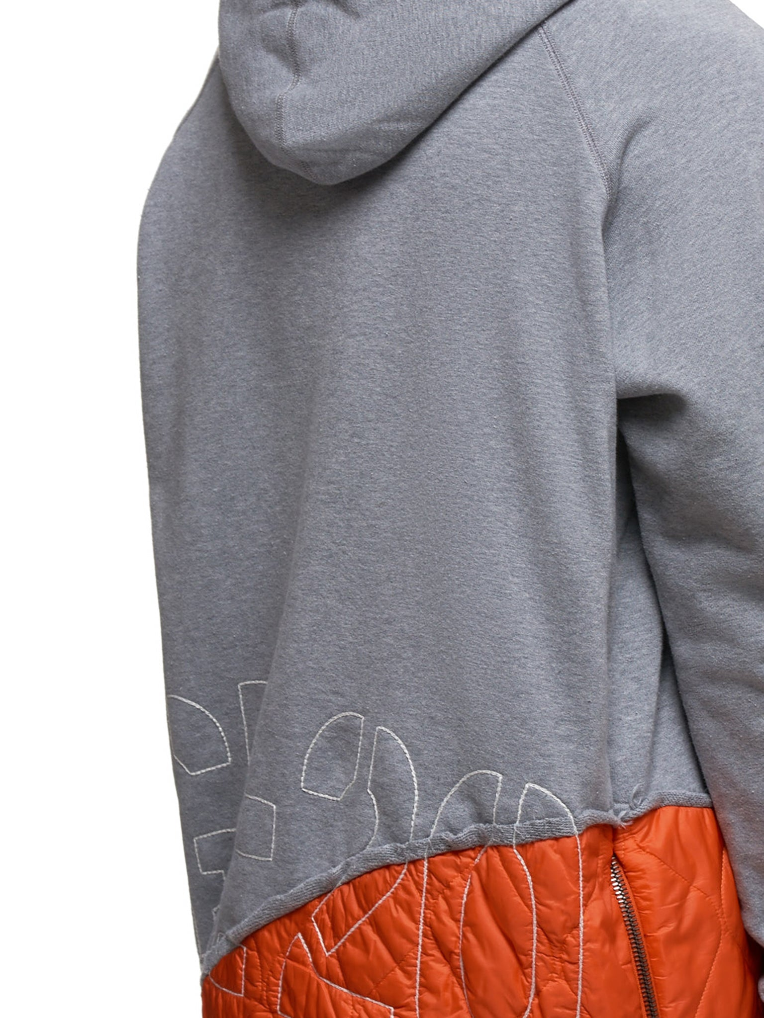 Paul & Shark by Greg Lauren Hoodie - Hlorenzo Detail 2