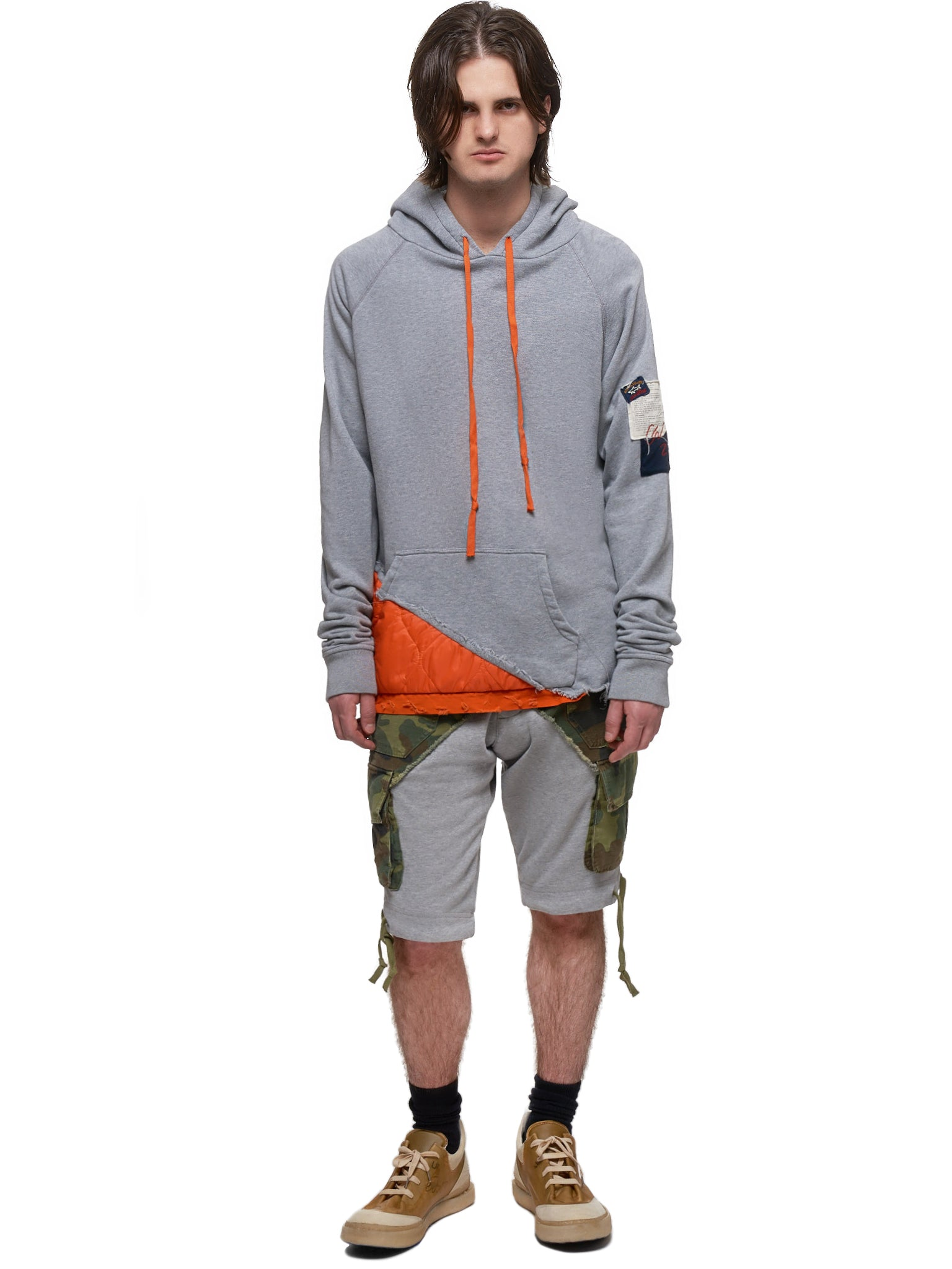 Paul & Shark by Greg Lauren Hoodie - Hlorenzo Style