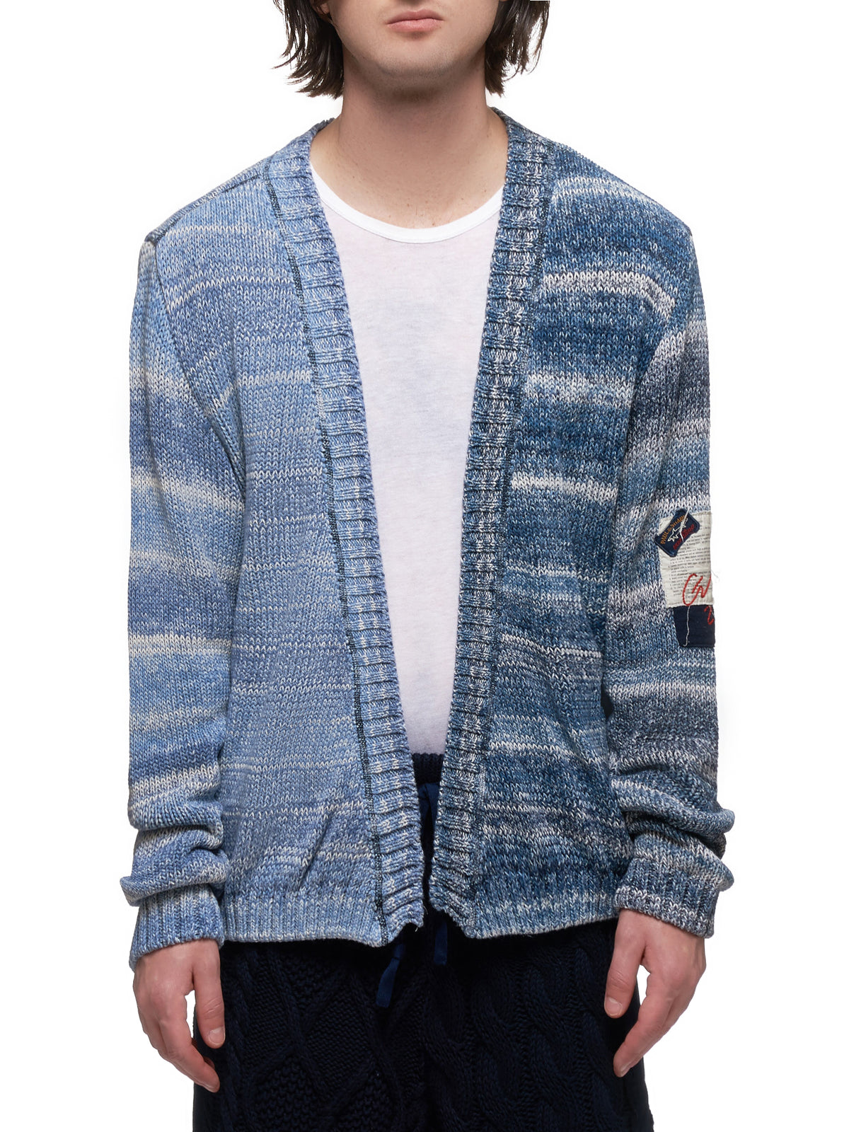Knitted Cardigan (P20P1478-LIGHT-BLUE)