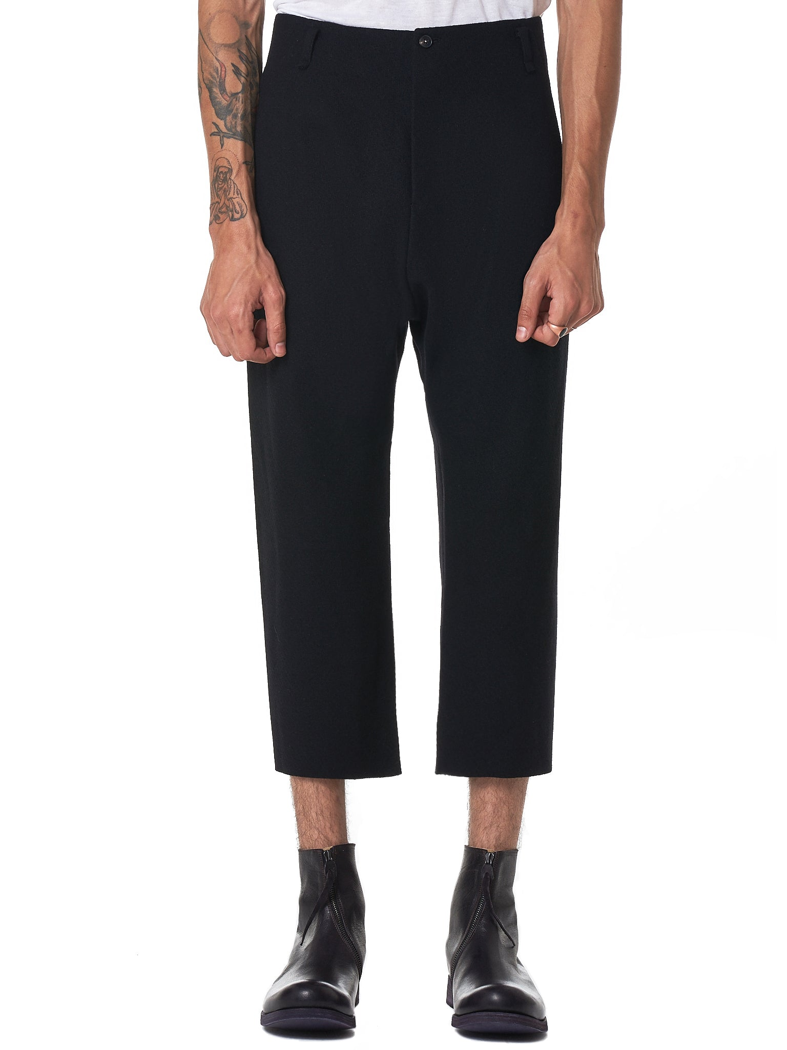 MA+ Cropped Trouser - Hlorenzo Front
