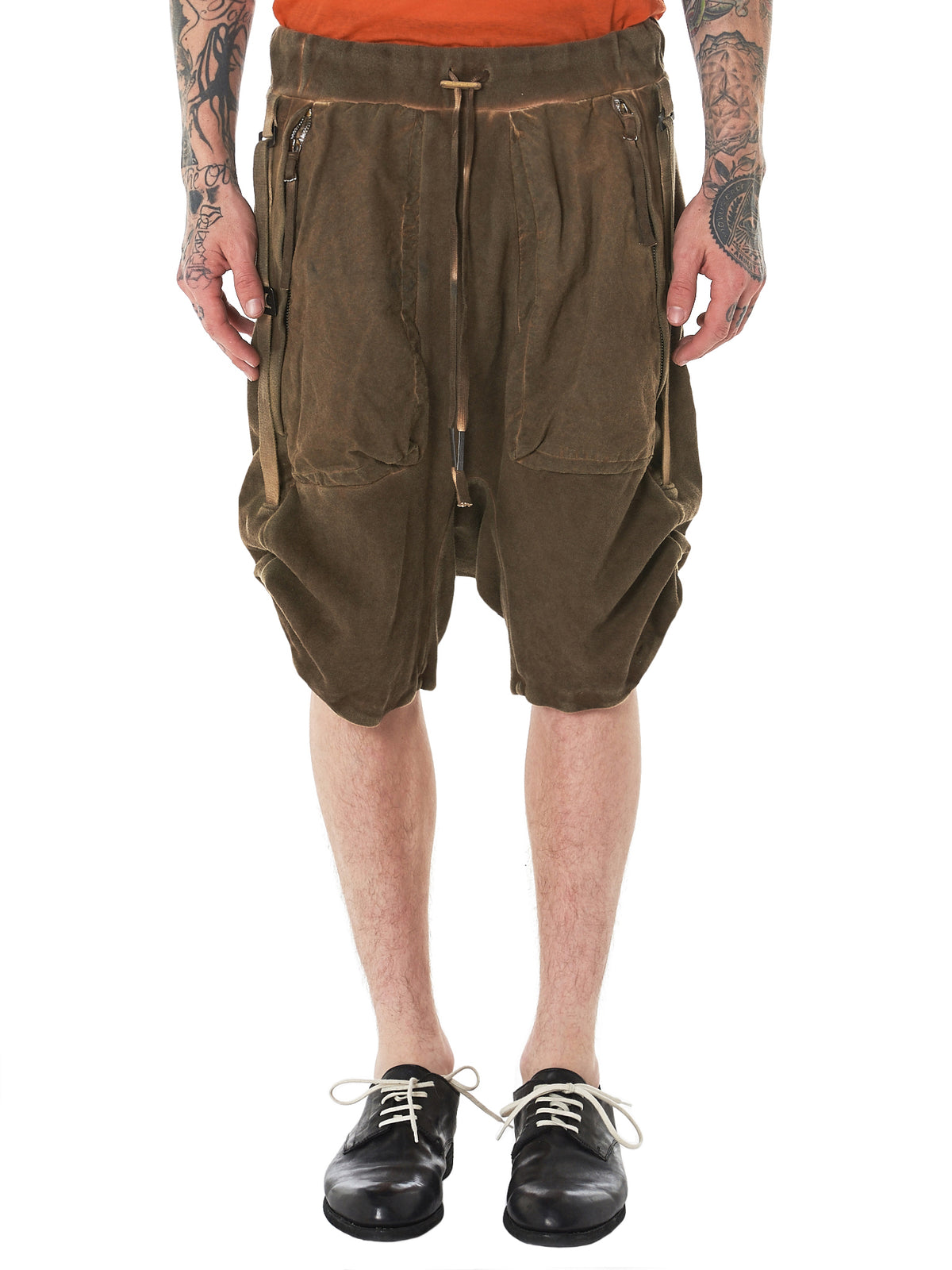 P8 Resin Dyed Shorts (P8-F092-BEIGE)