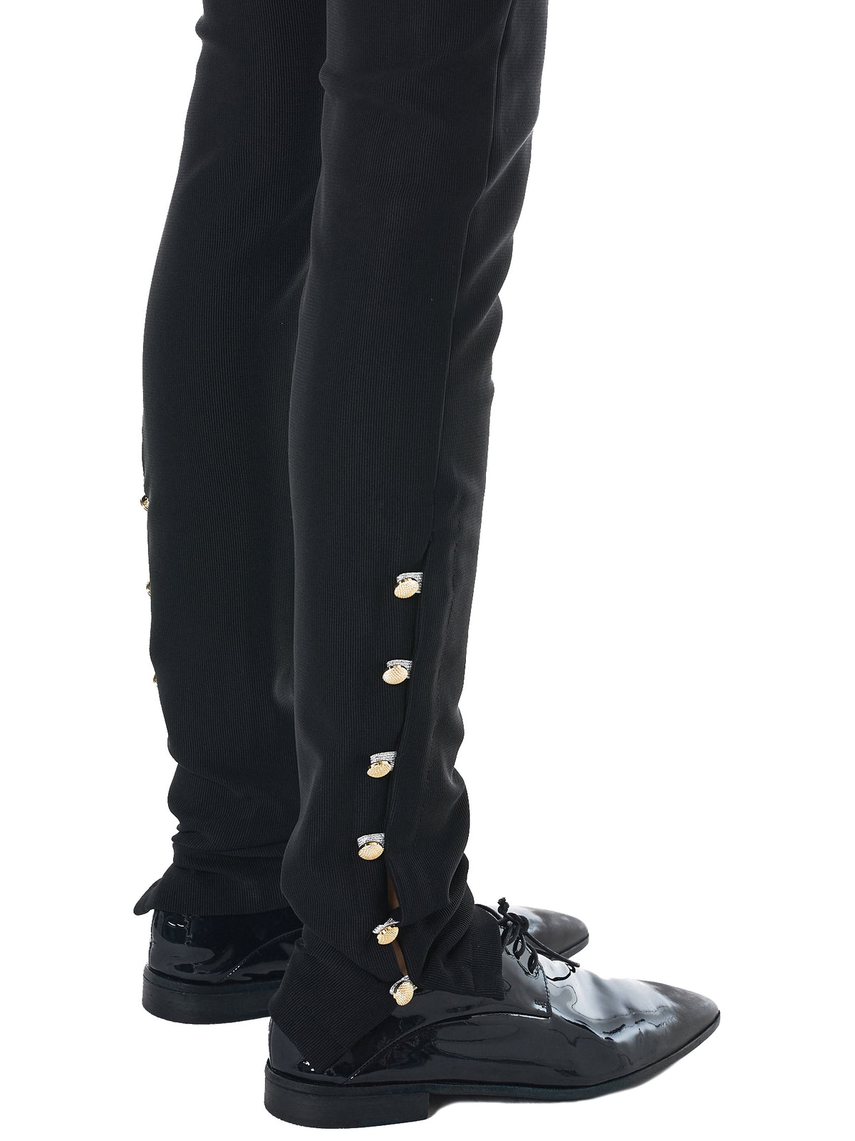 Fitted Stretch Trousers (PA13200-BLACK)