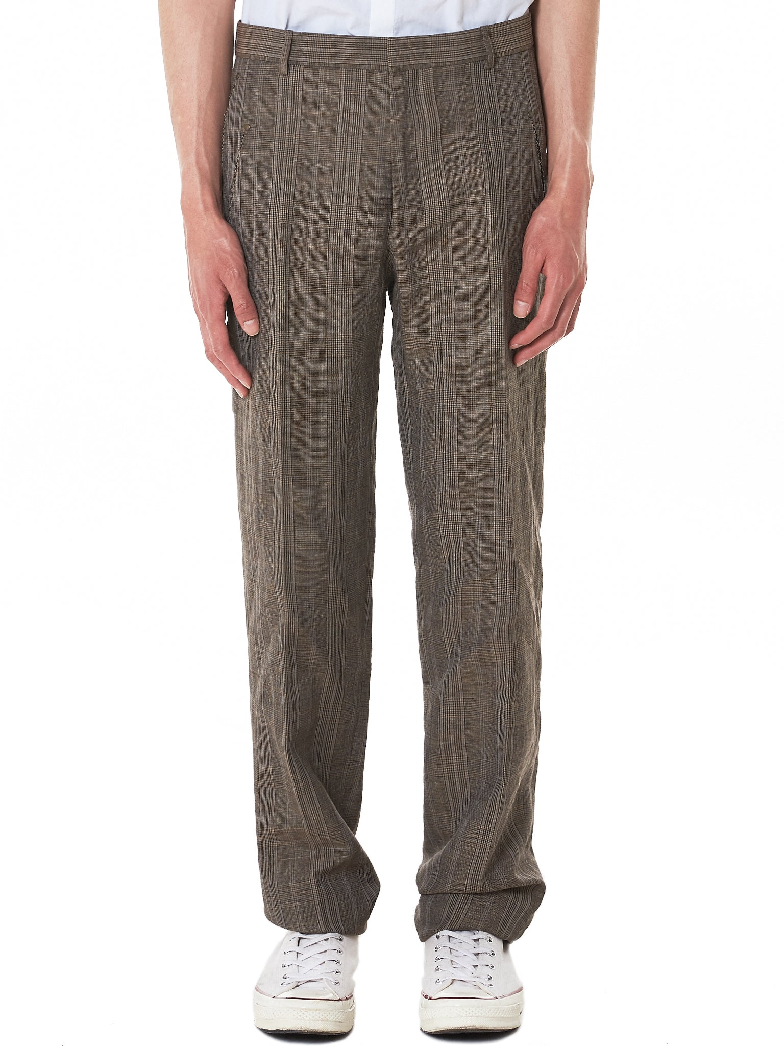 Y/Project Check Trouser - Hlorenzo Front