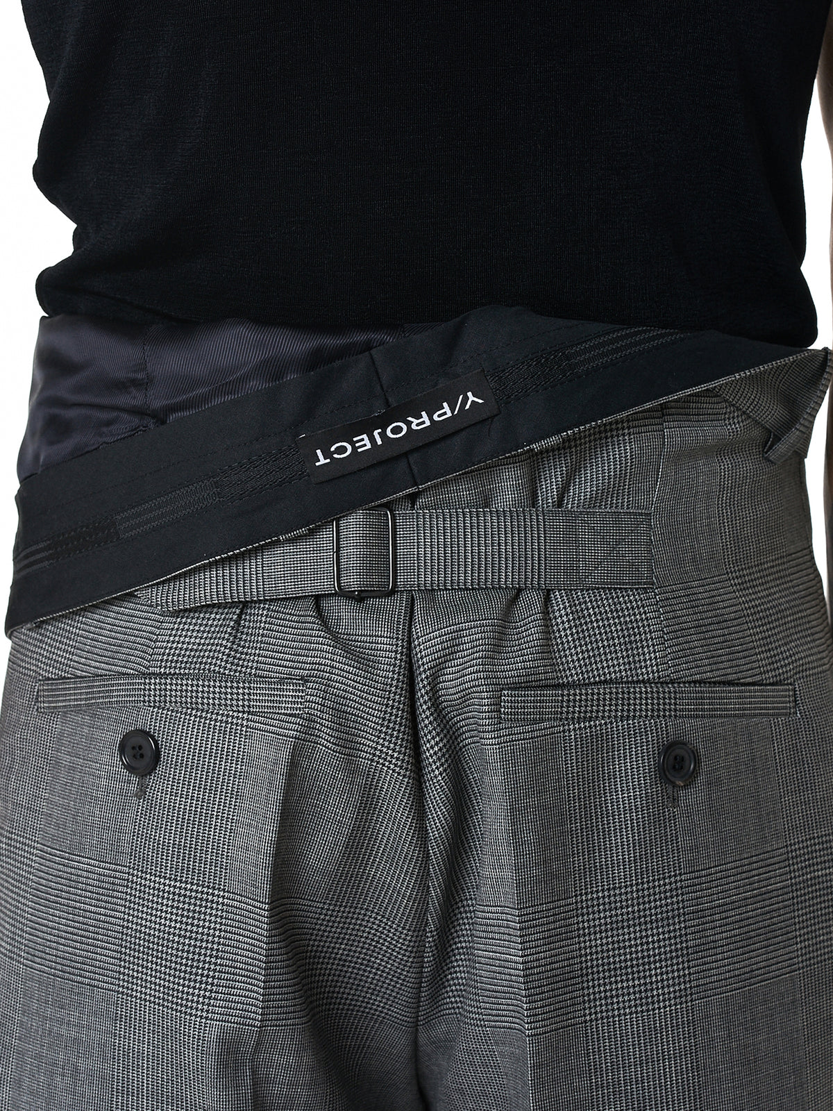 Y/Project Trouser - Hlorenzo Back Detail