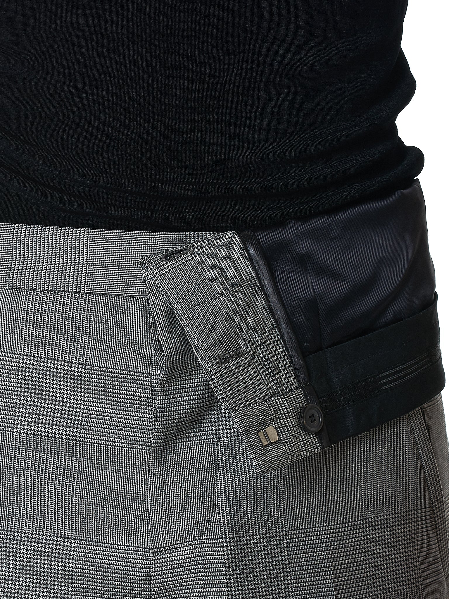 Y/Project Trouser - Hlorenzo Front Detail