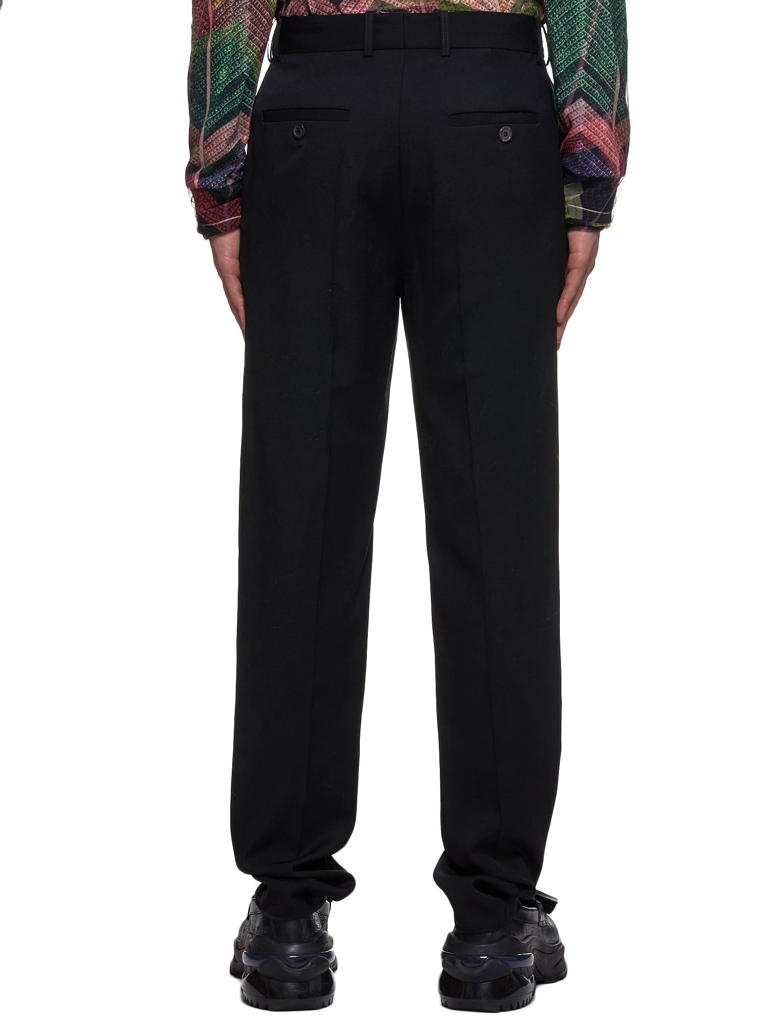 Wool Trousers (PANT42-S17-F17-BLACK)
