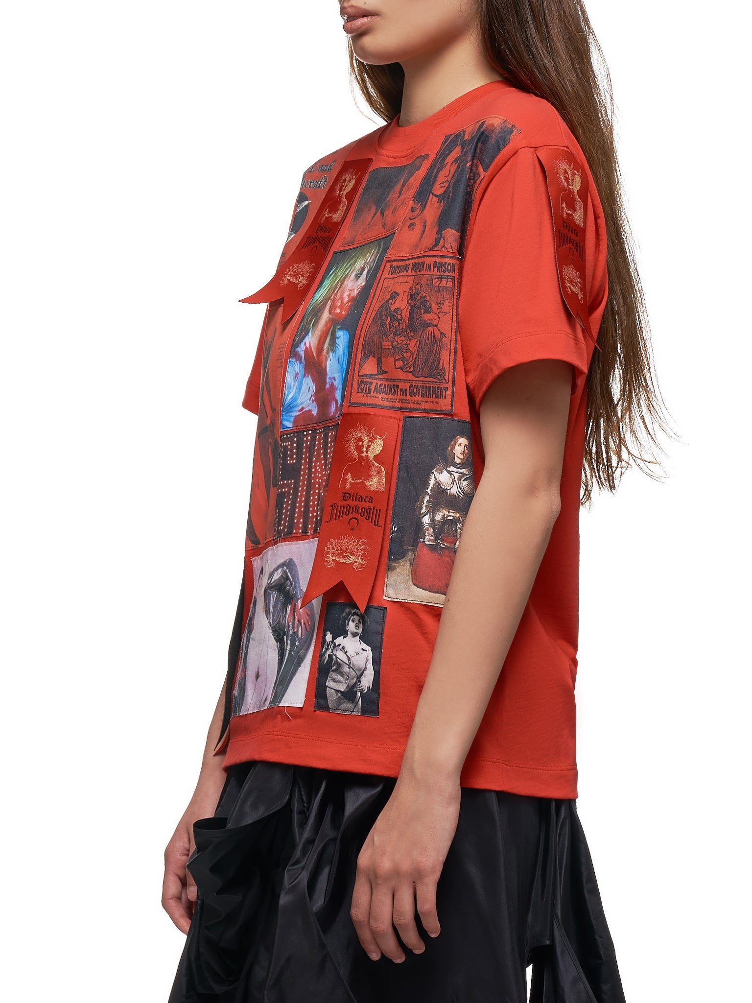 Patch T-Shirt (PATCH-T-SHIRT-RED)