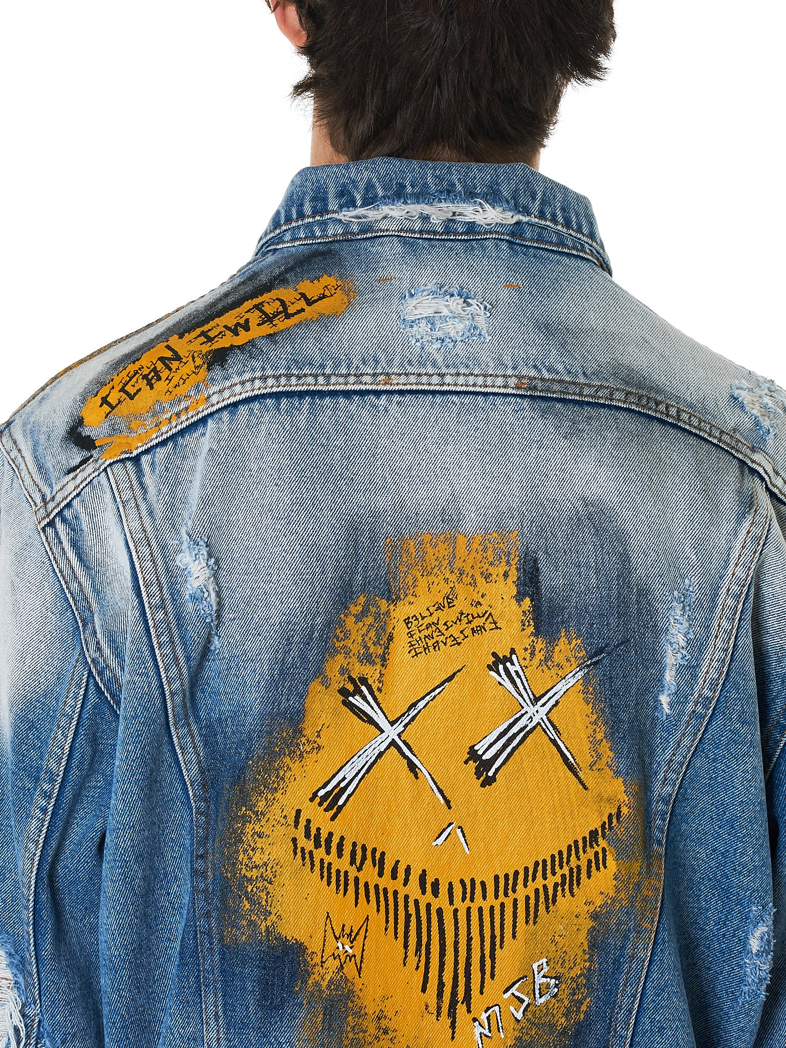 MJB (Marc Jacques Burton) Denim Jacket - Hlorenzo Detail 2