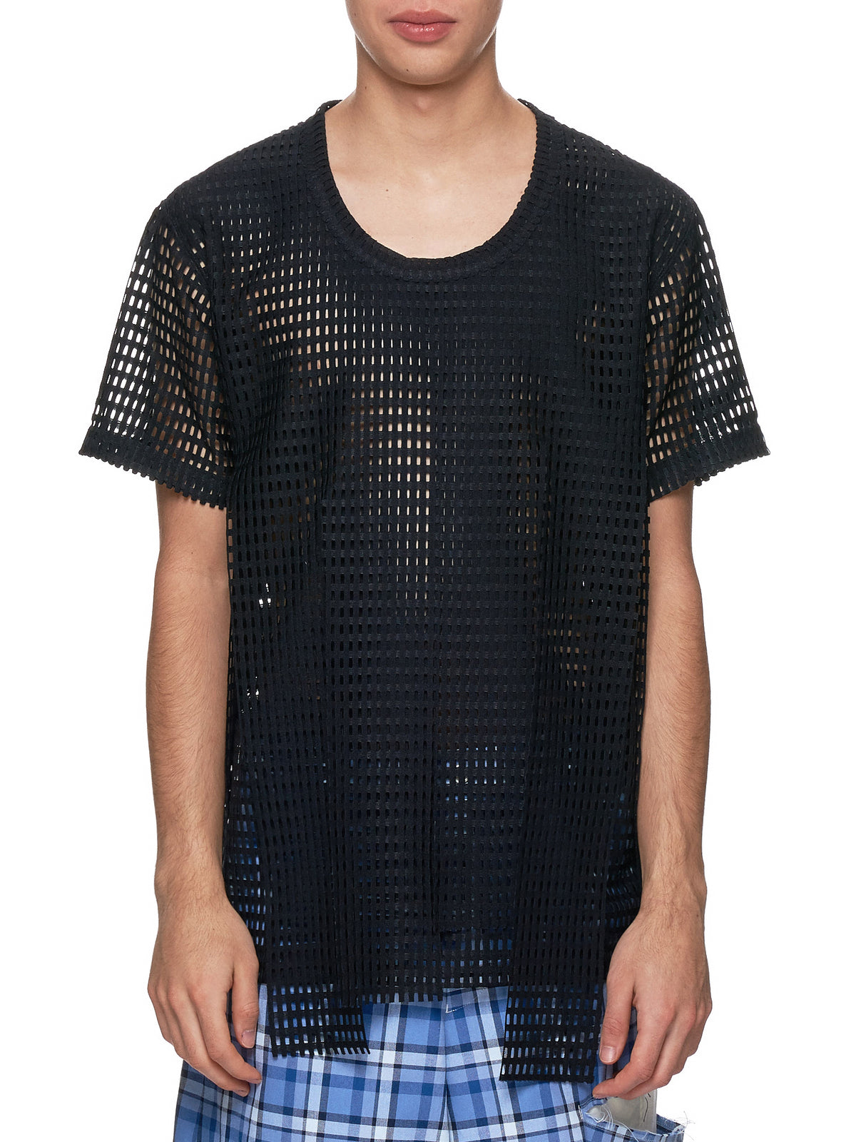 Cut-Out T-Shirt (PC-T011-051-BLACK)