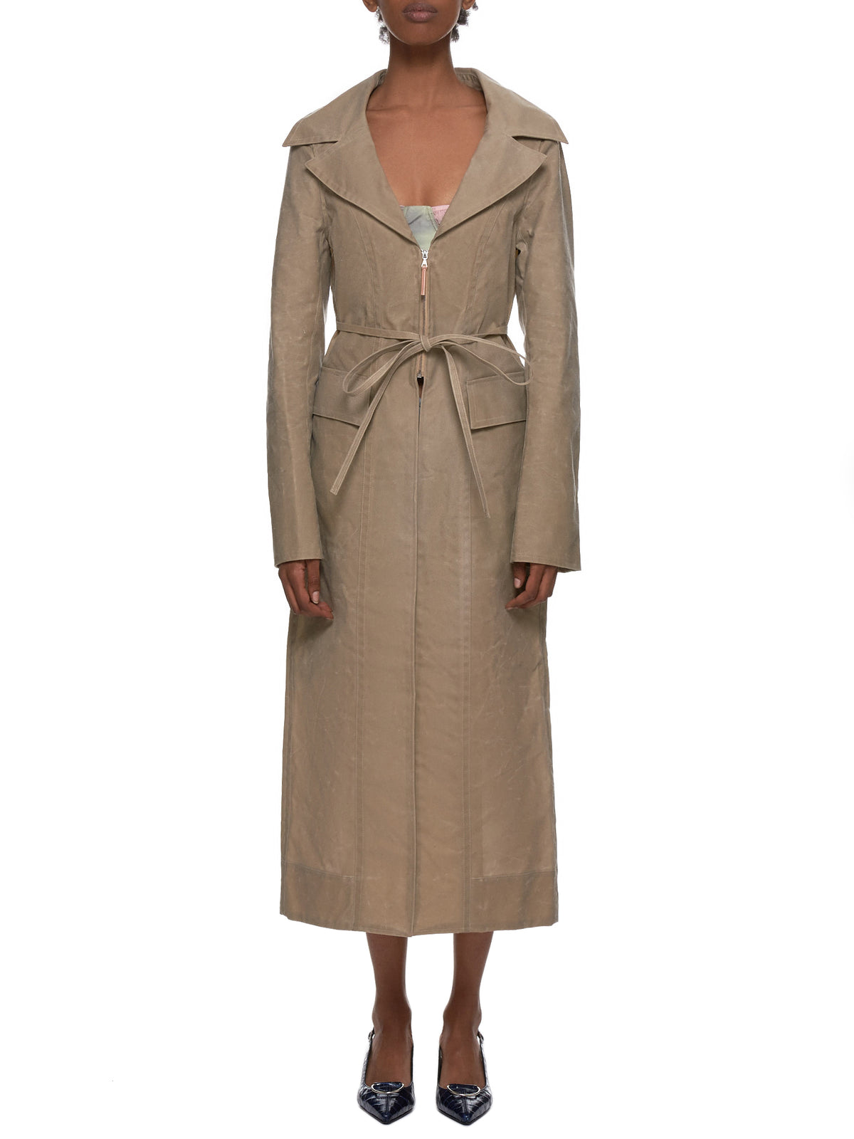 Charlotte Knowles Coat - Hlorenzo Front