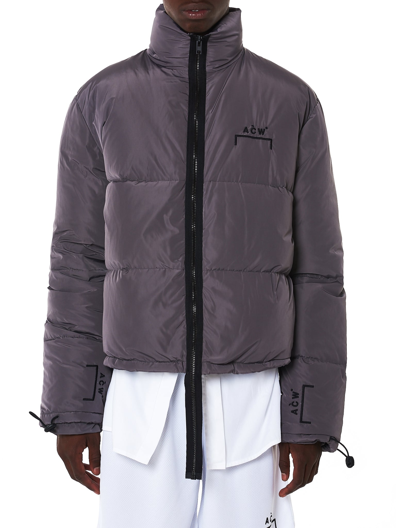 A Cold Wall Quilted Jacket - Hlorenzo Front