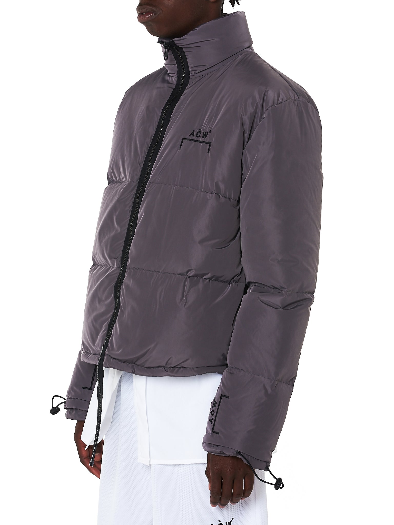 A Cold Wall Quilted Jacket - Hlorenzo Side