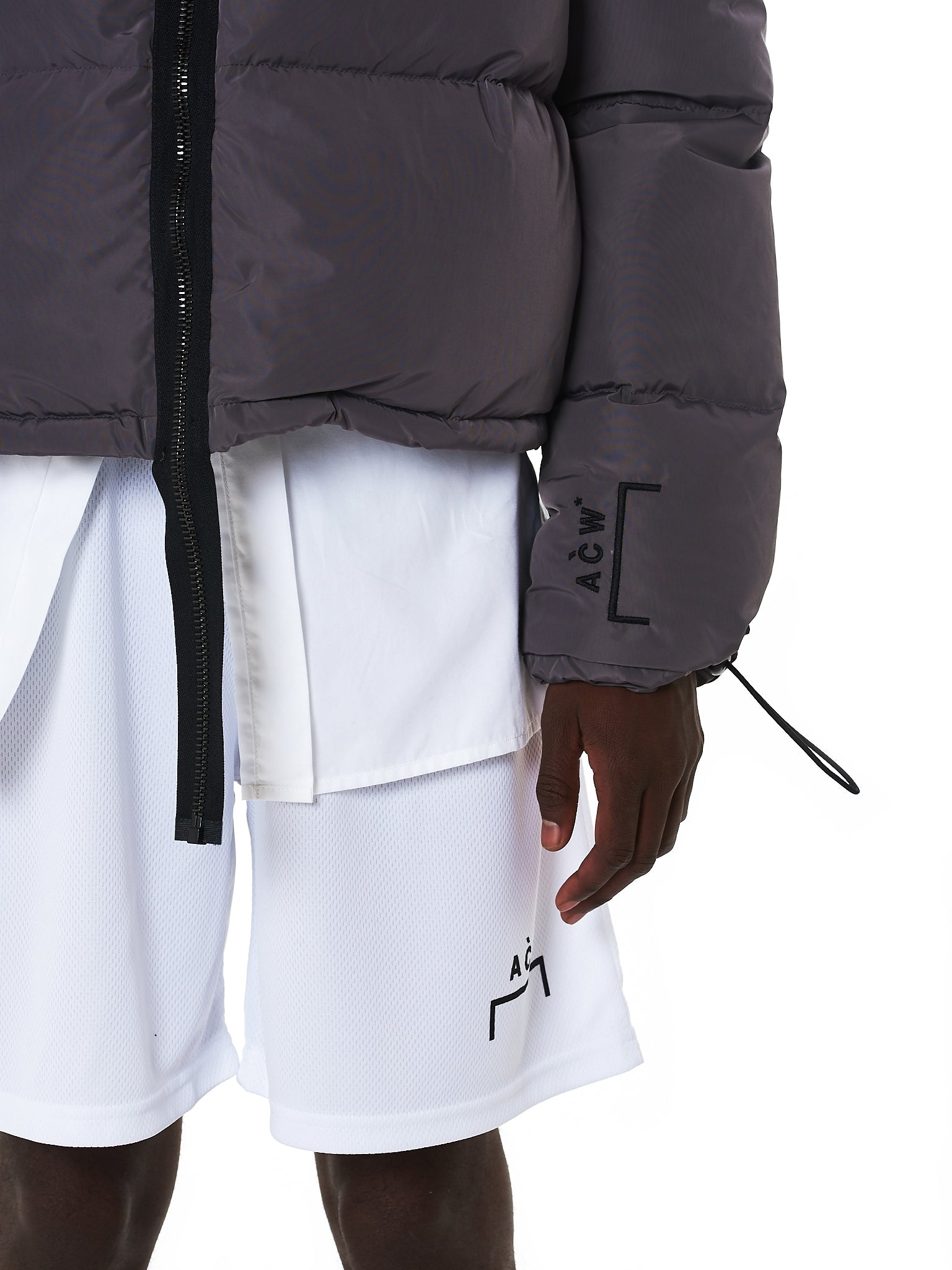 A Cold Wall Quilted Jacket - Hlorenzo Detail 1