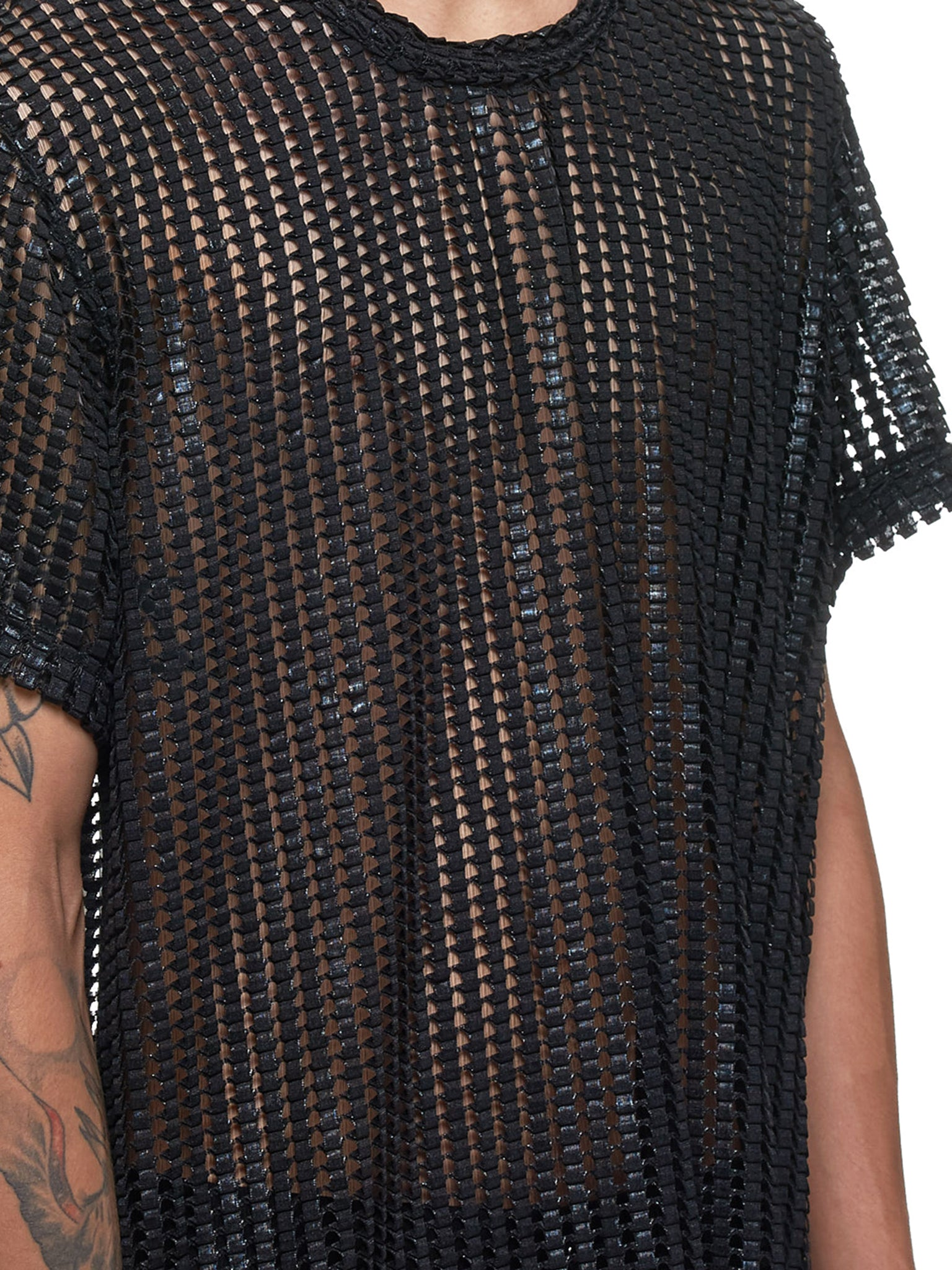Netted Top (PD-T050-051-BLACK)
