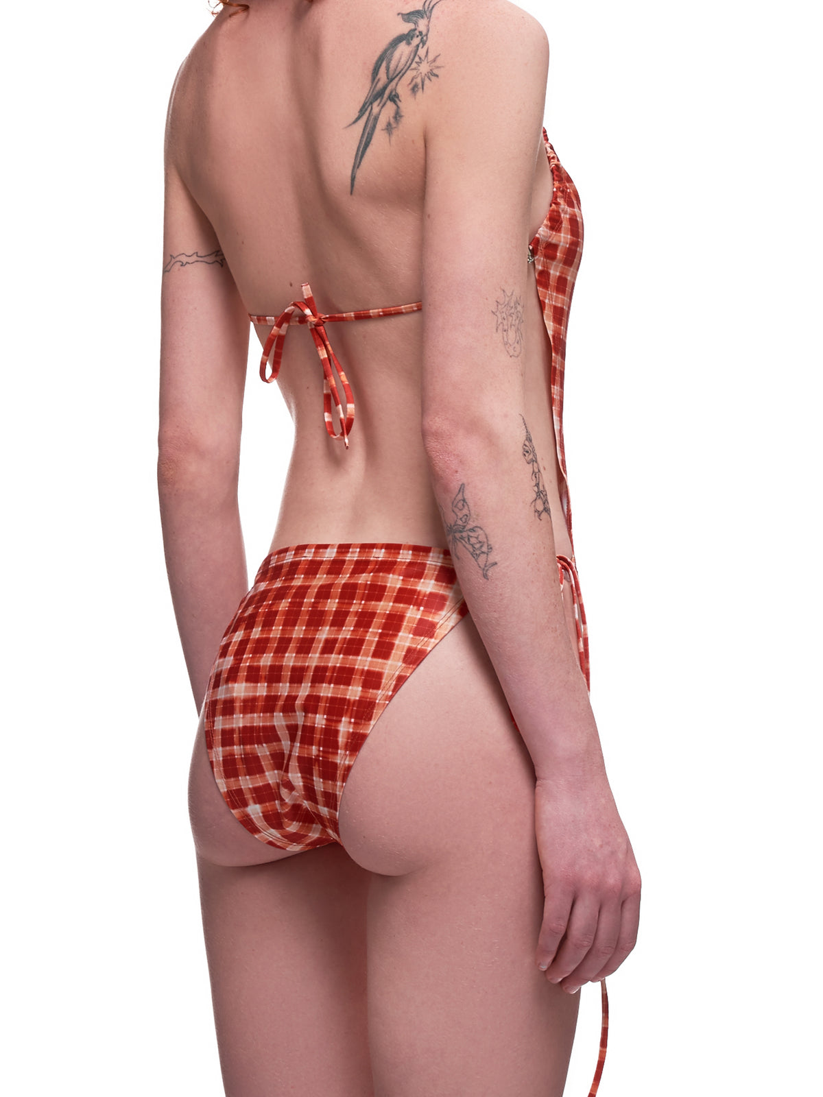 Perse Swimsuit (PES0RC-RED-CHECK)