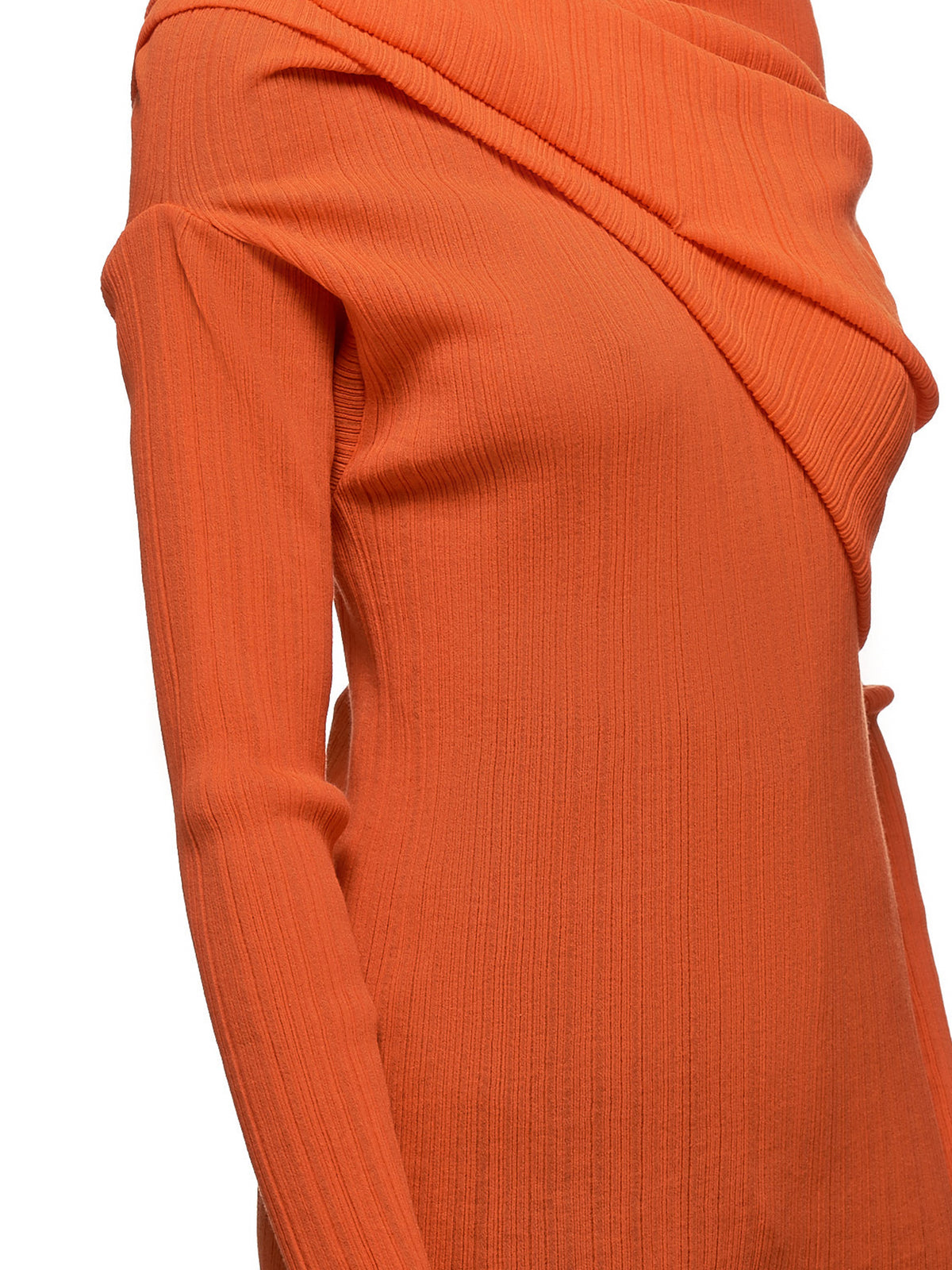 One-Shoulder Top (PJT0019C00928-U6452-ORANGE)