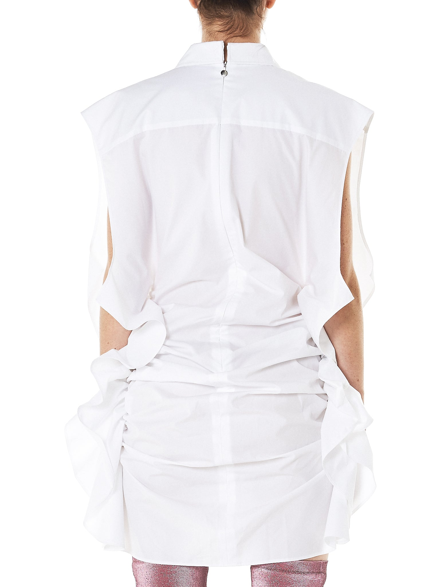 Shirt Dress (PK-SS18-SD-S-WHITE)