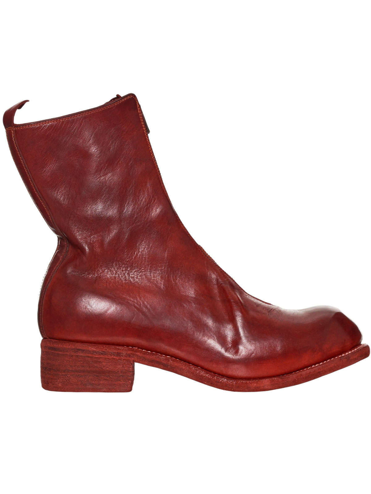 Guidi PL2 Red Boot - Hlorenzo Front