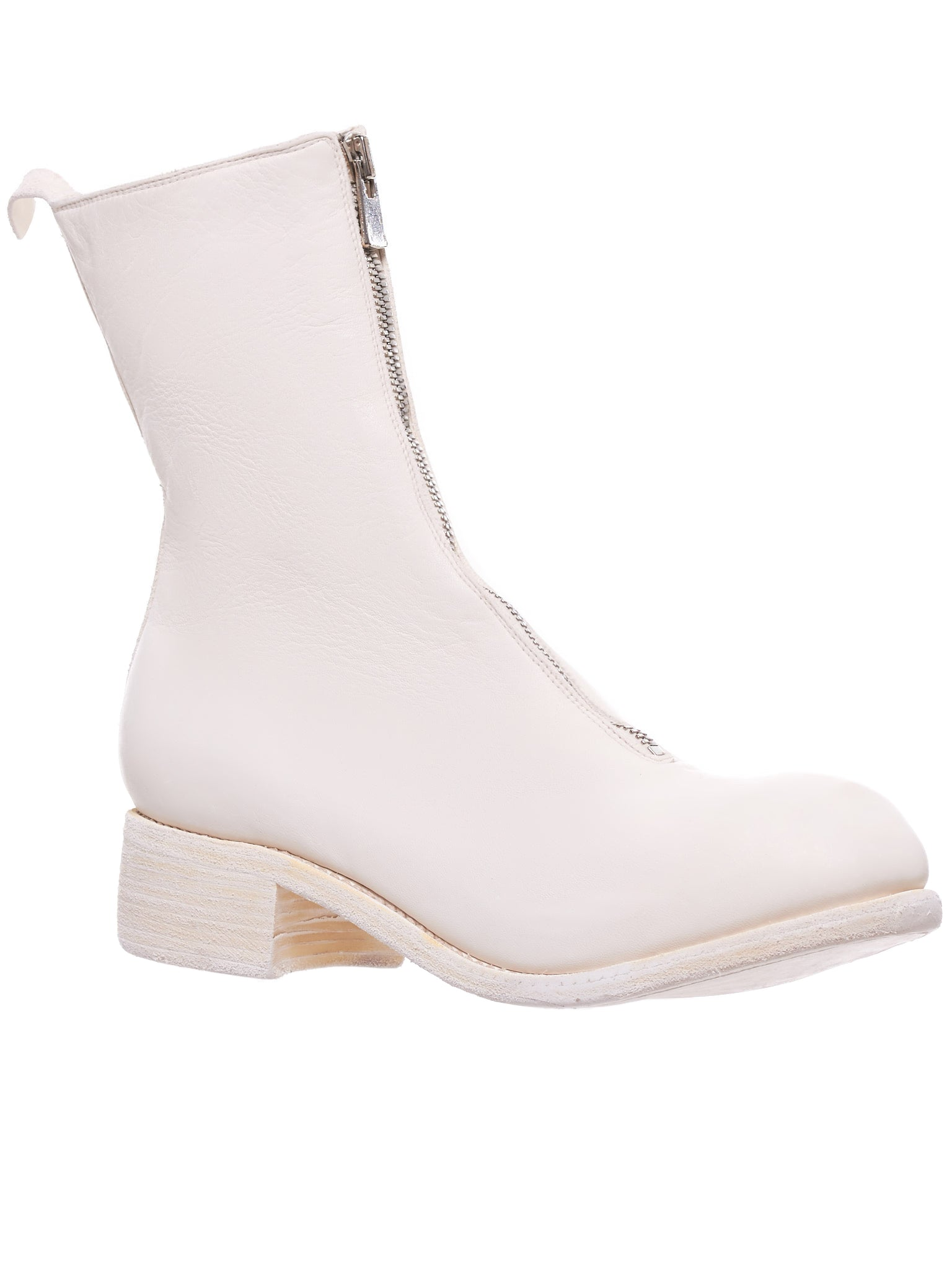 PL2 Horse Leather Boot (PL2-HORSE-FG-WHITE)