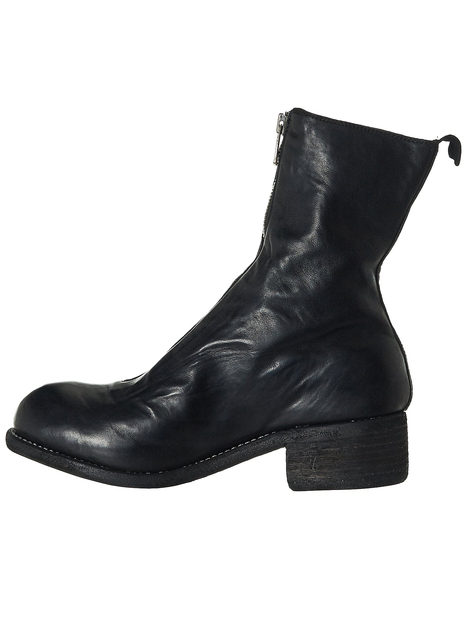 Object-Dyed Leather Boot (PL2-SOFT-HORSE-FG-BLKT)
