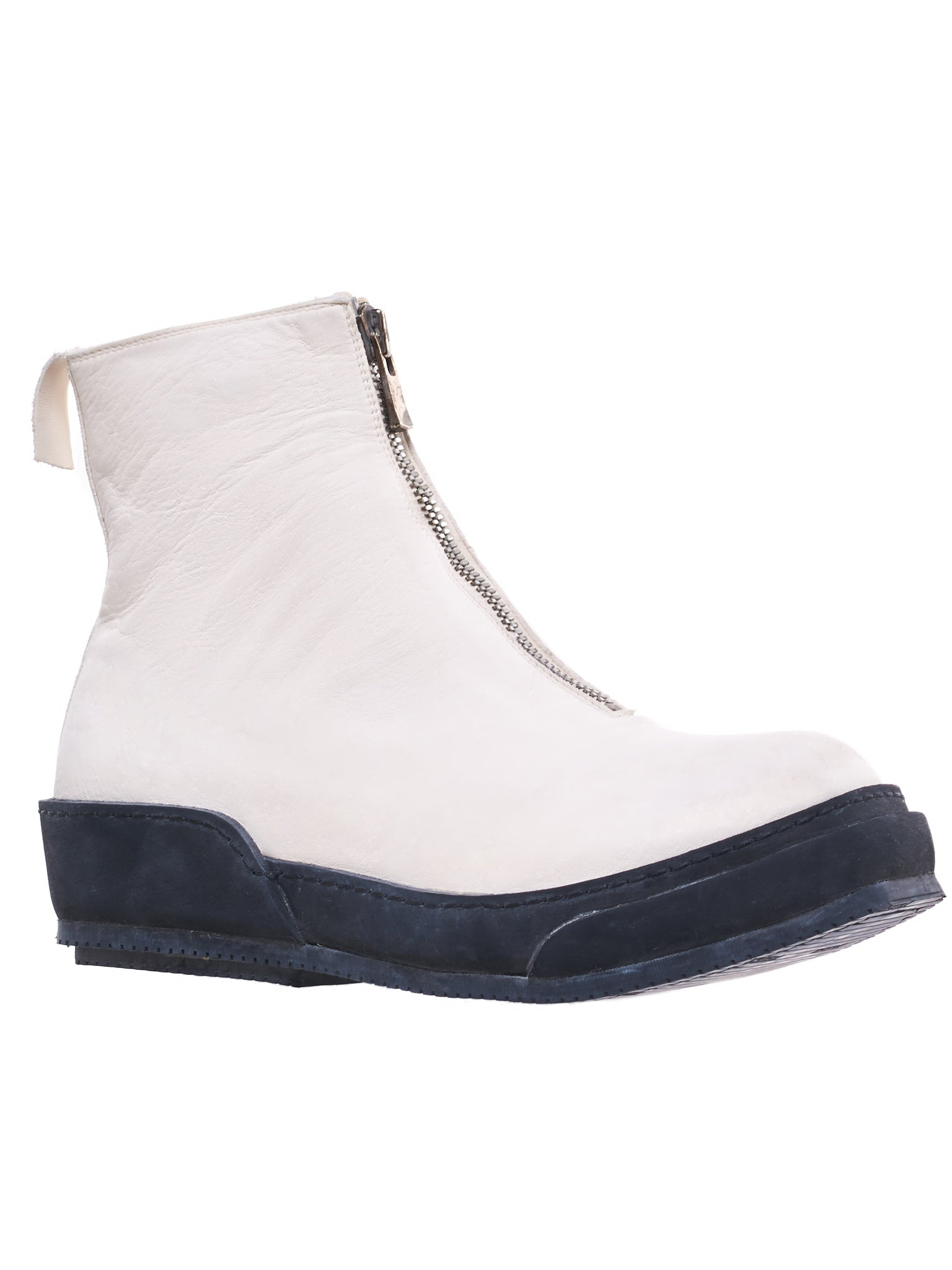 PLS Leather Boot (PLS-SOFT-HORSE-FG-WHITE)