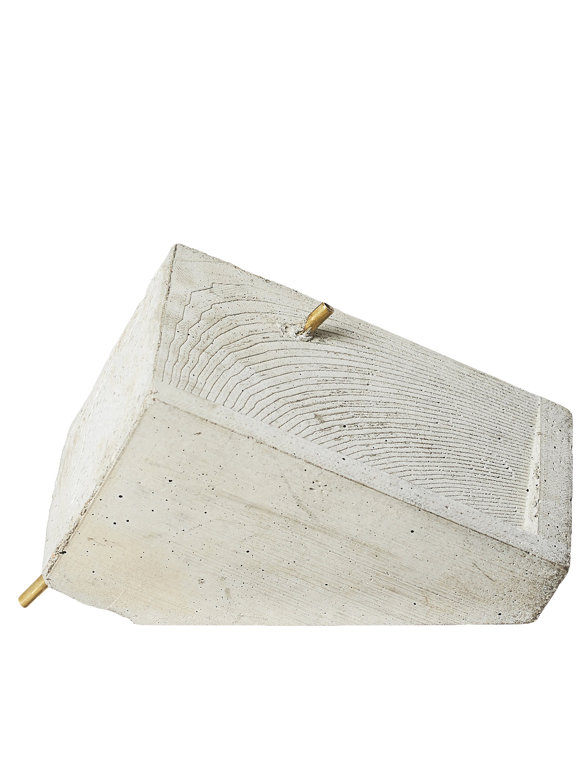 Concrete Objects Incense Burner - Hlorenzo Front