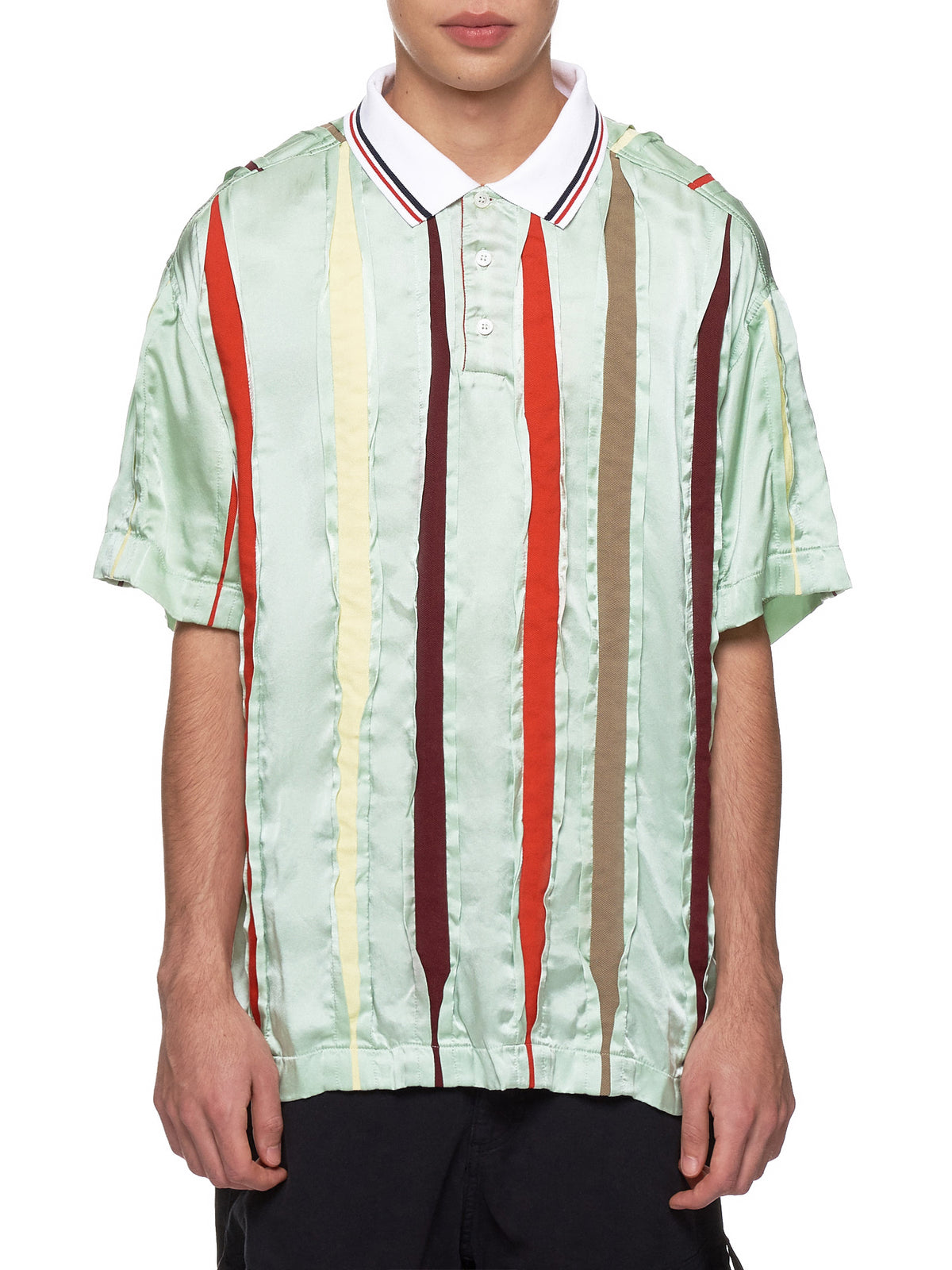 Silk Polo (PO17-S16-F120-MINT-GREEN)