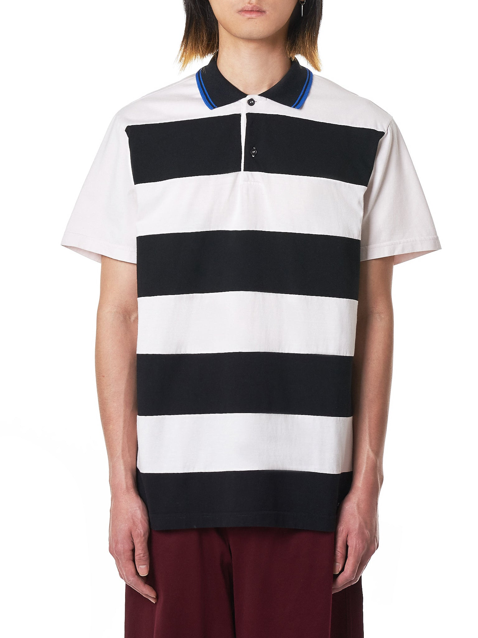 Marni Striped Polo - Hlorenzo Front