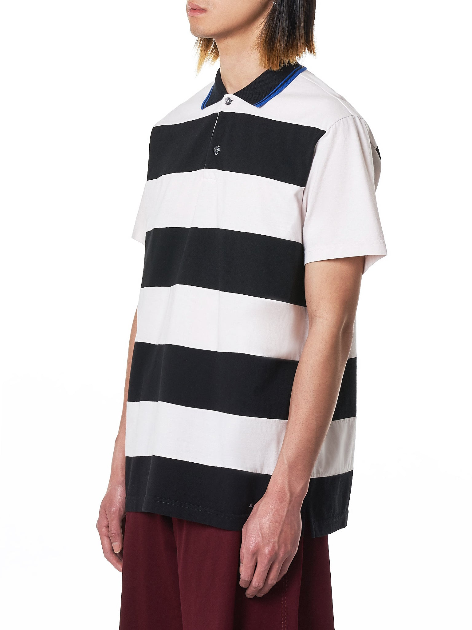 Marni Striped Polo - Hlorenzo Side