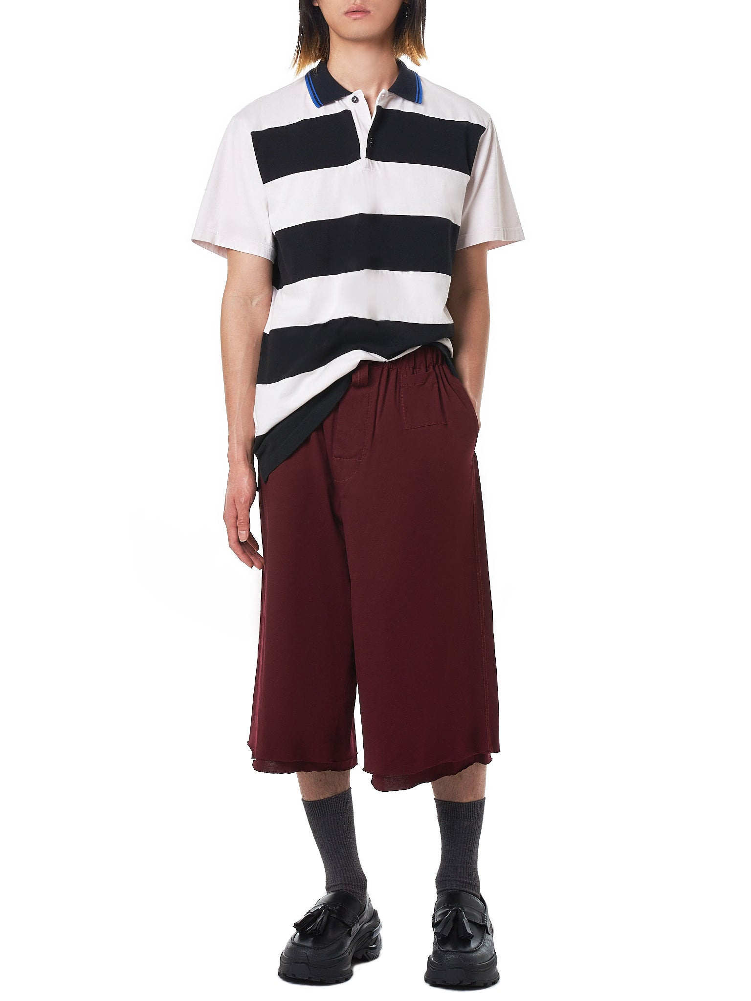 Marni Striped Polo - Hlorenzo Style
