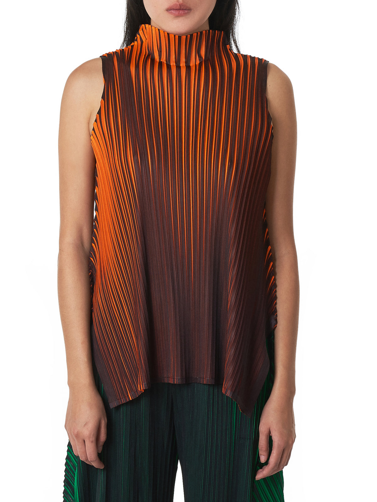 Pleats Please Issey Miyake Top - Hlorenzo Front