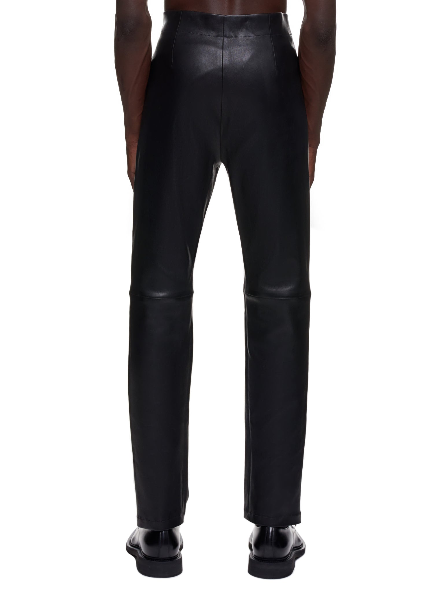 Ludovic De Saint Sernin Leather Pants | H.Lorenzo Back