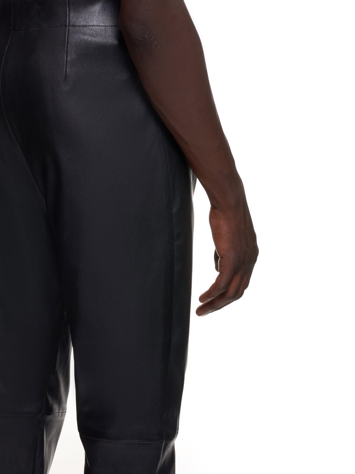 Ludovic De Saint Sernin Leather Pants | H.Lorenzo Detail 2