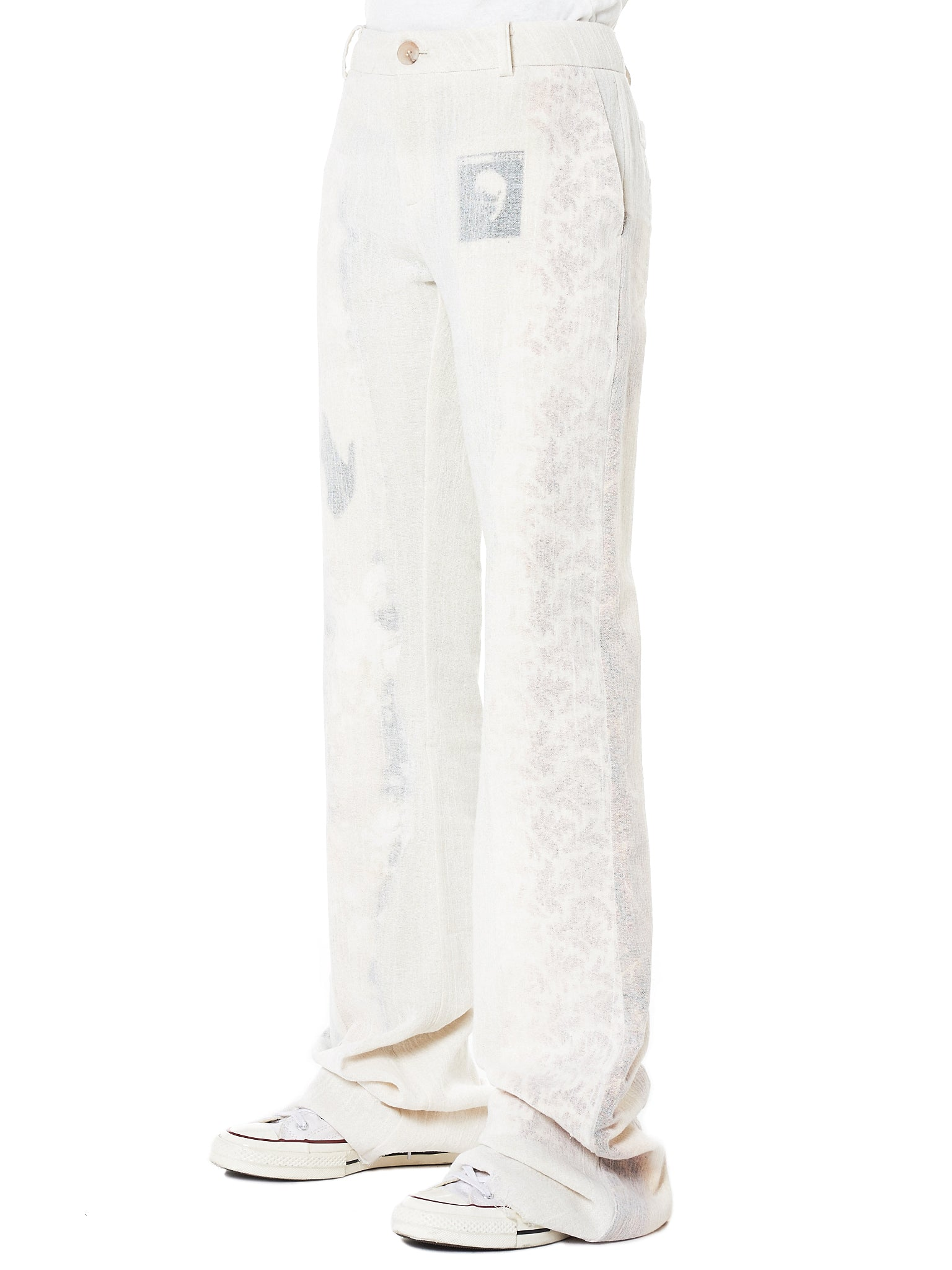 Hyein Seo Graphic Pant - Hlorenzo Side